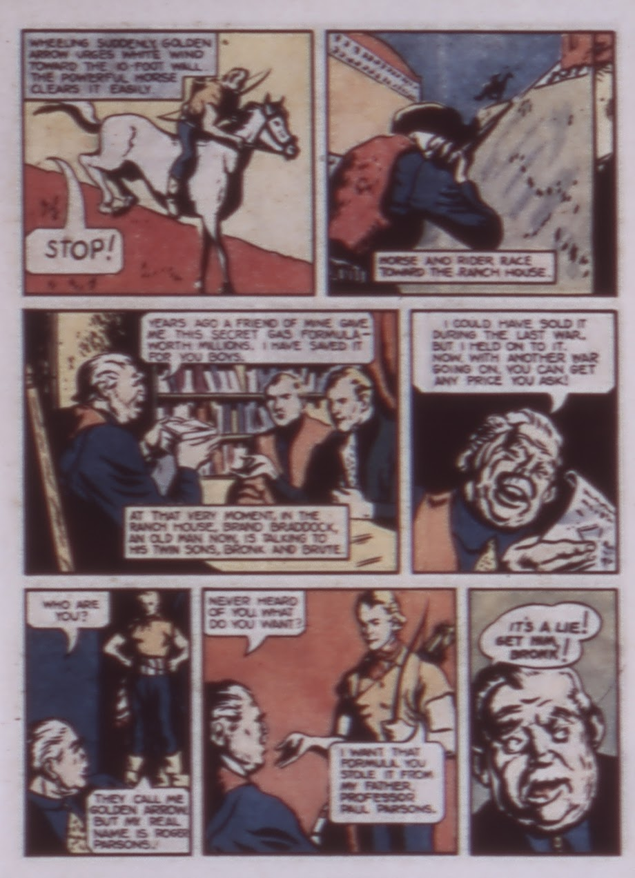 Read online WHIZ Comics comic -  Issue #1 - 31