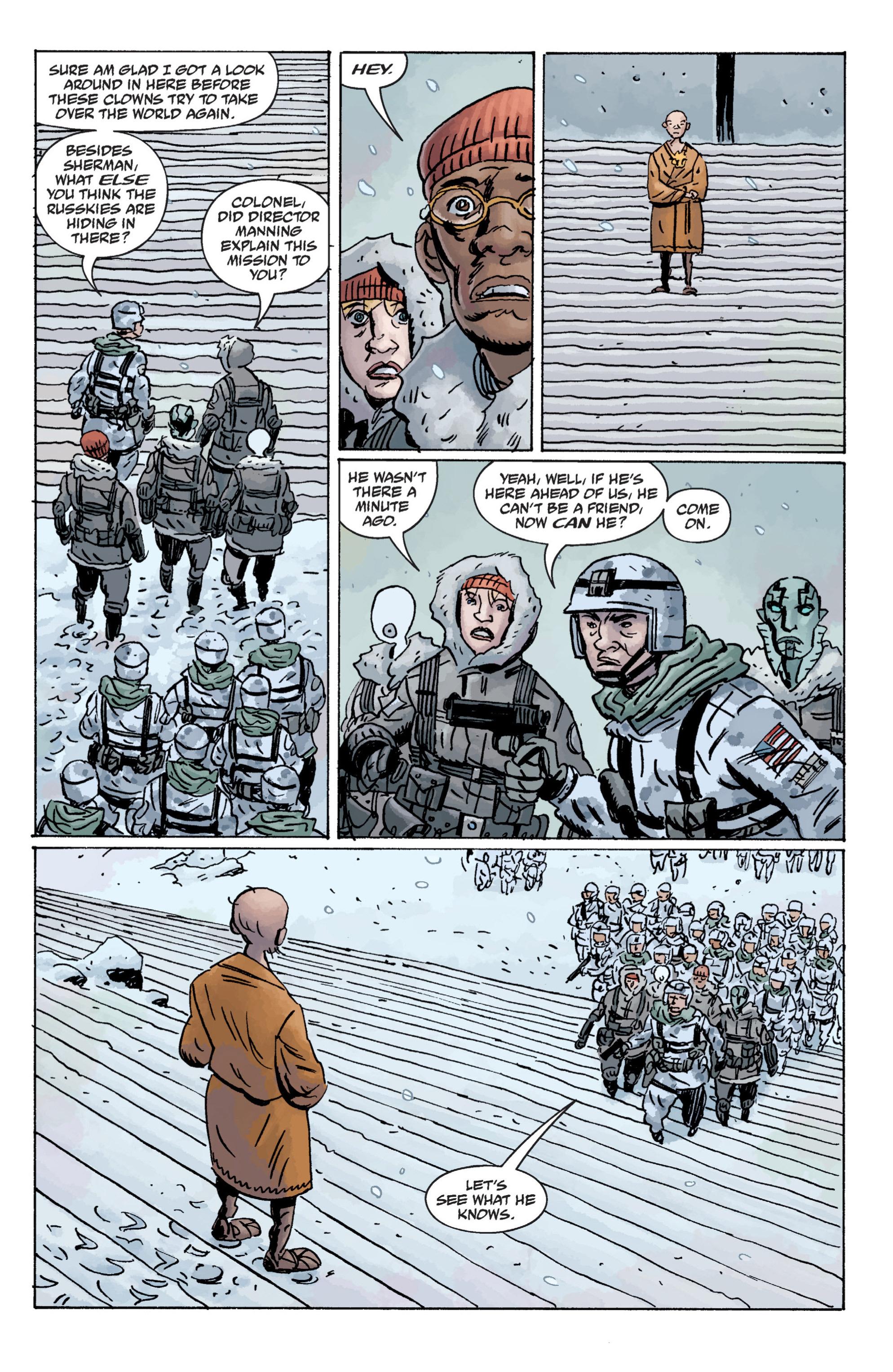 Read online B.P.R.D. (2003) comic -  Issue # TPB 11 - 37
