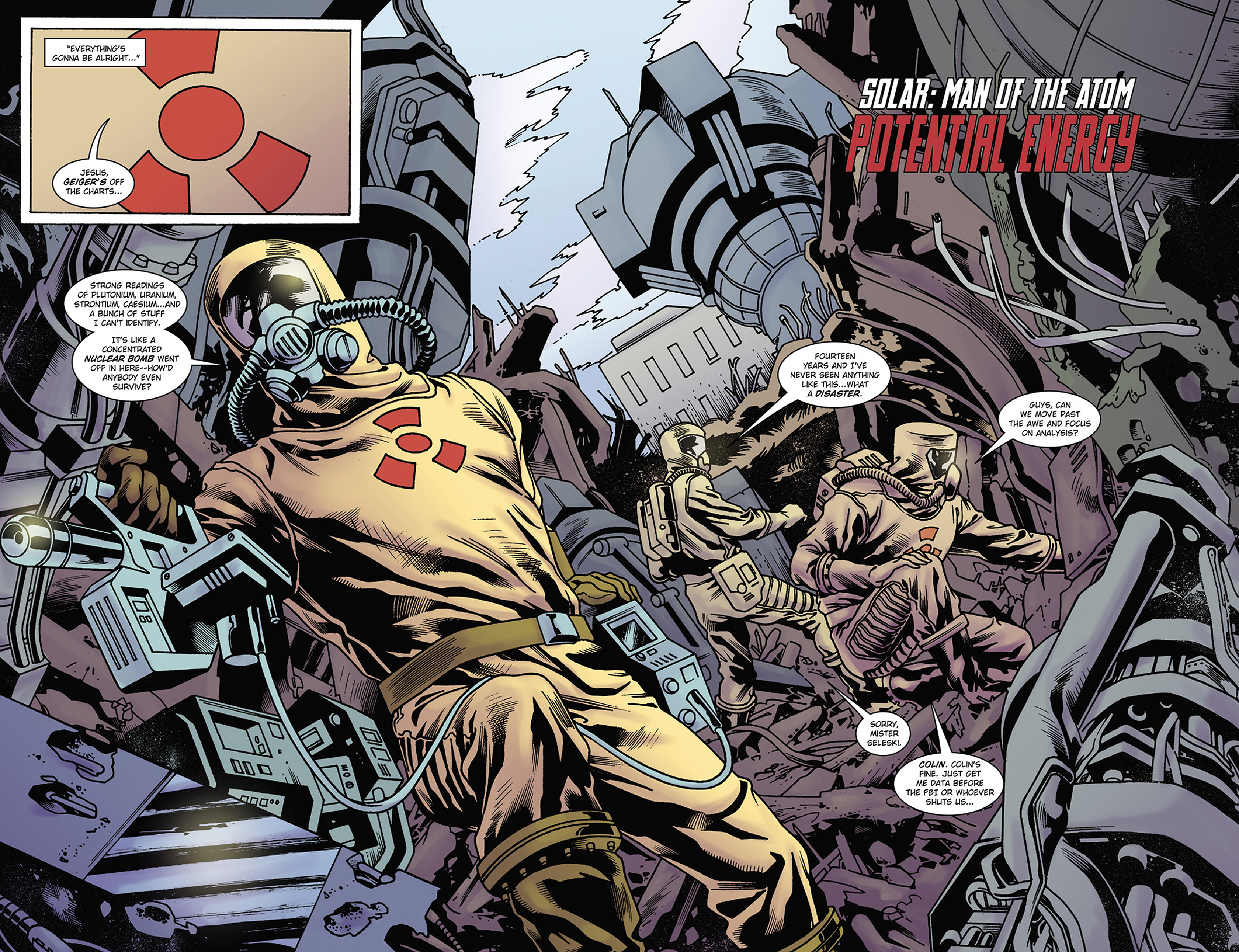 Read online Solar: Man of the Atom (2014) comic -  Issue #2 - 8