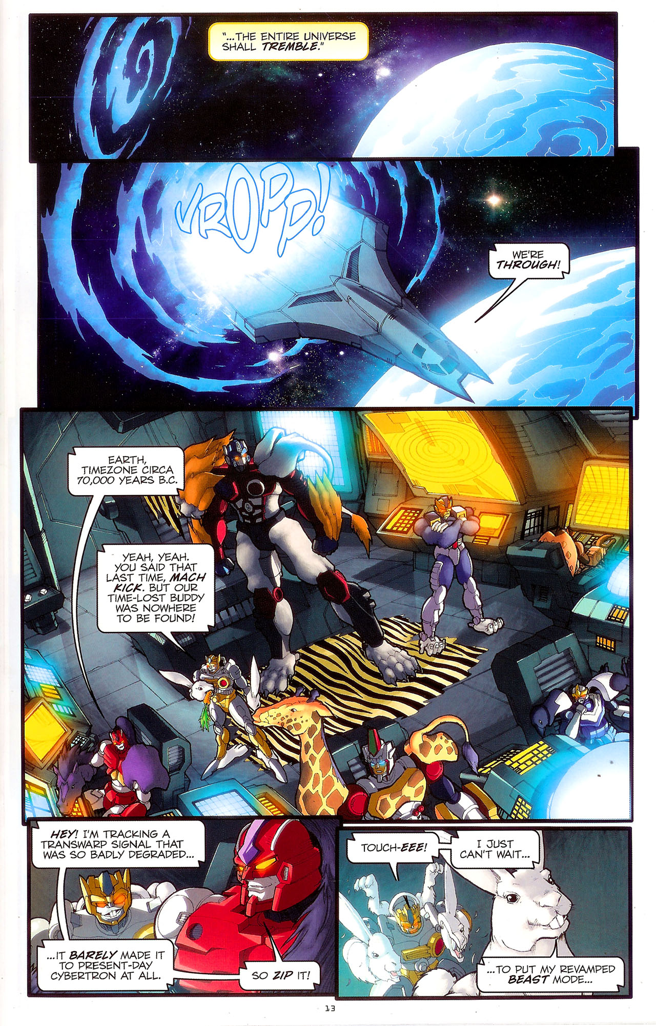 Read online Transformers: Beast Wars: The Ascending comic -  Issue #2 - 16