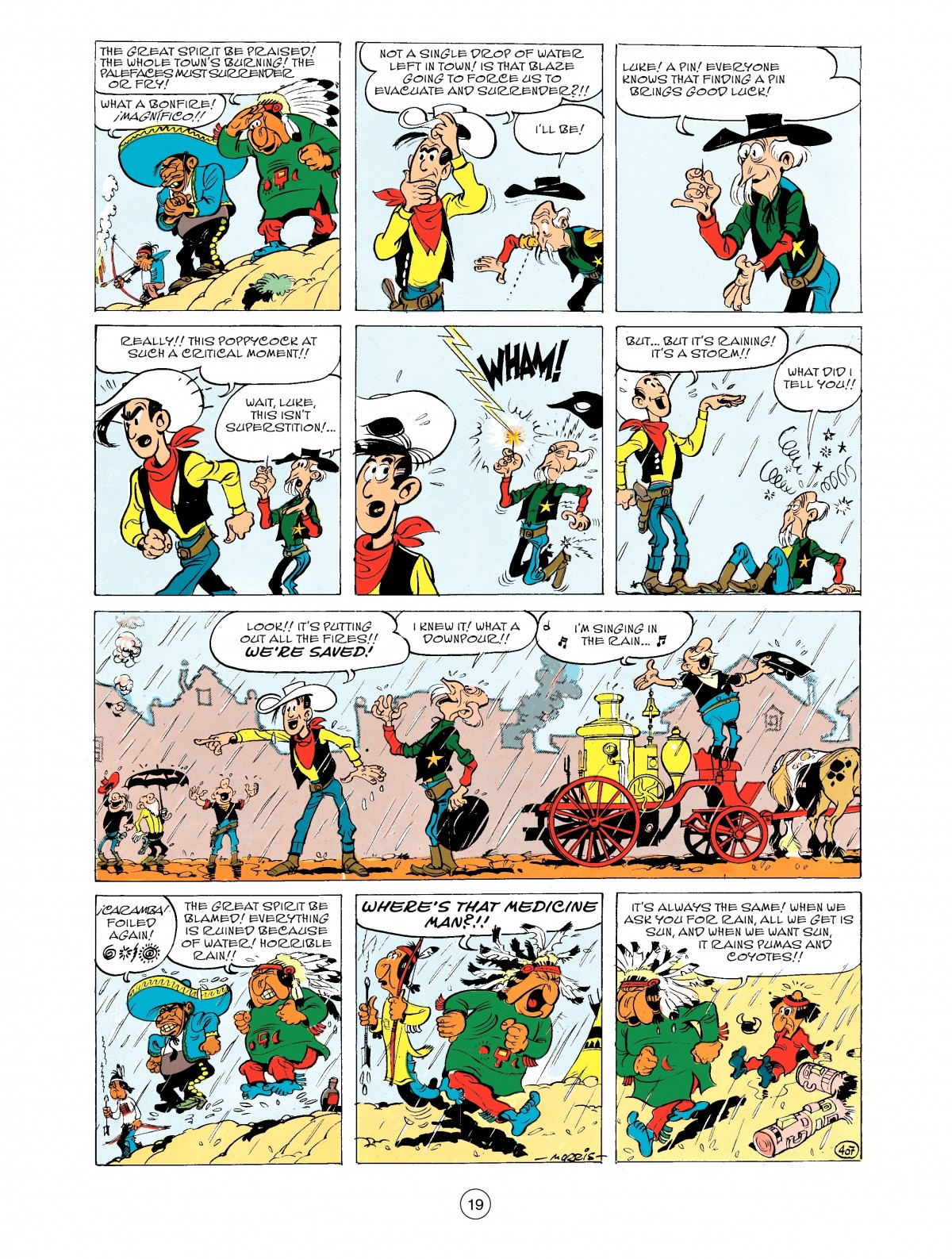 Read online A Lucky Luke Adventure comic -  Issue #43 - 19
