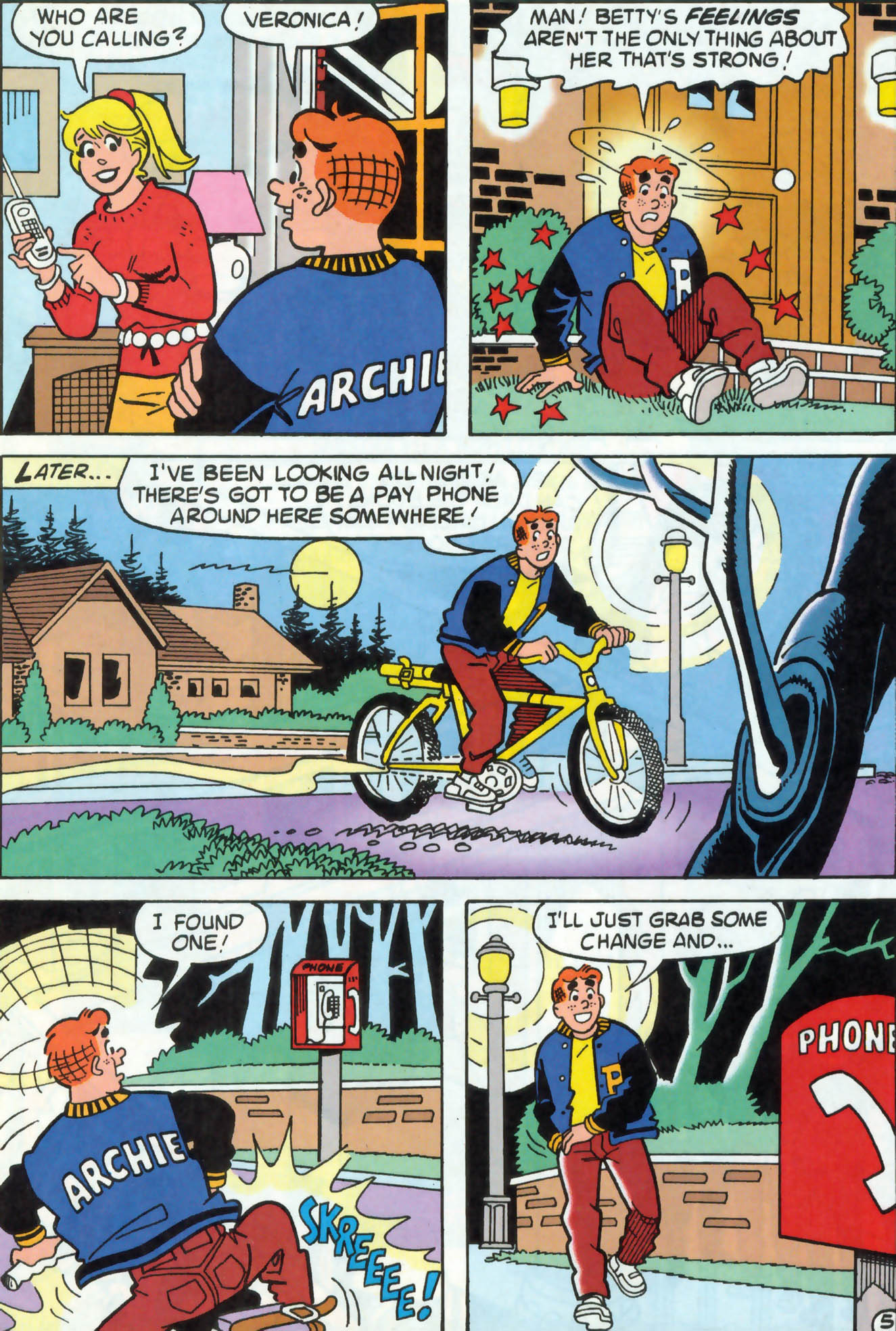 Read online Archie (1960) comic -  Issue #471 - 6