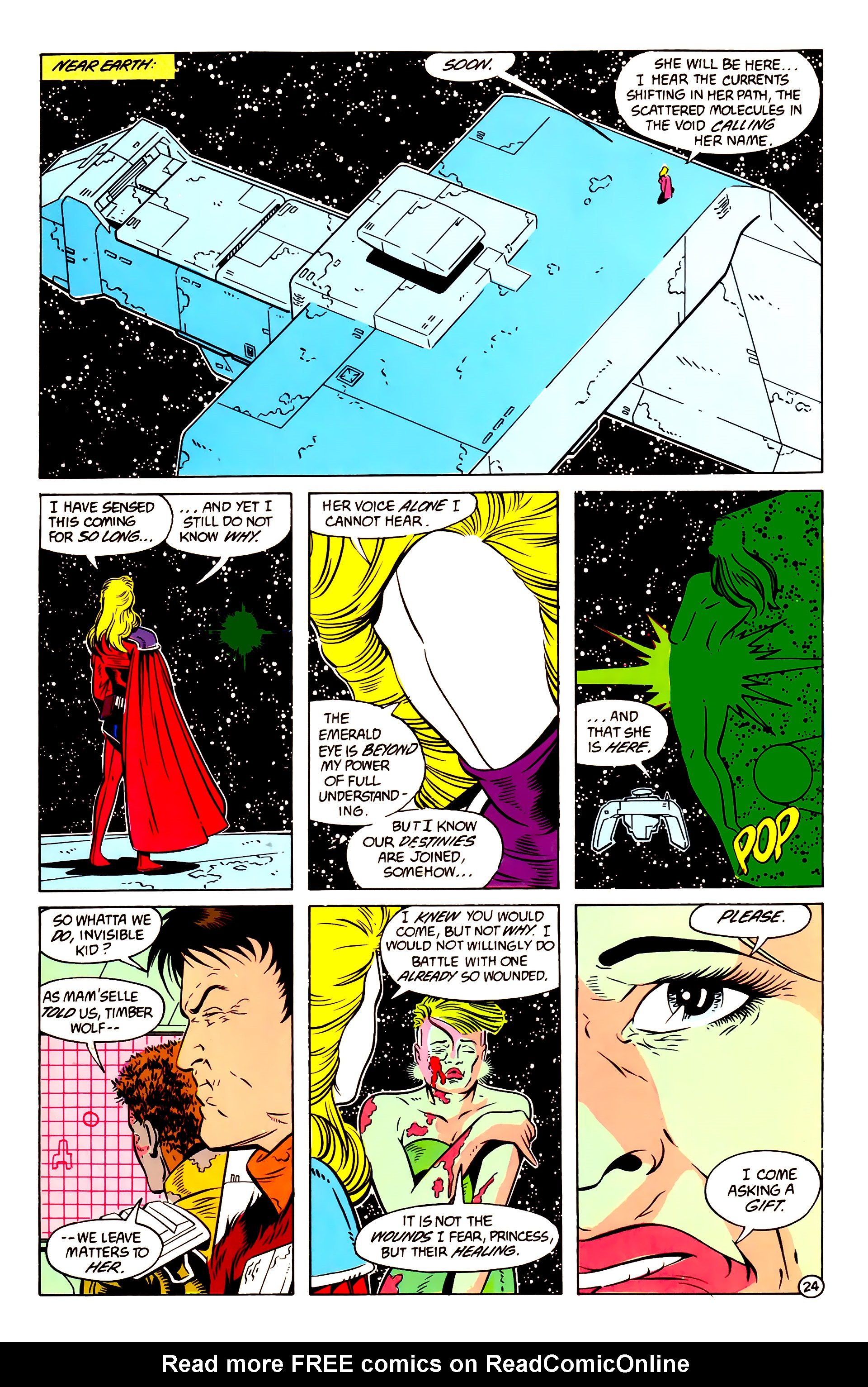 Legion of Super-Heroes (1984) 58 Page 24