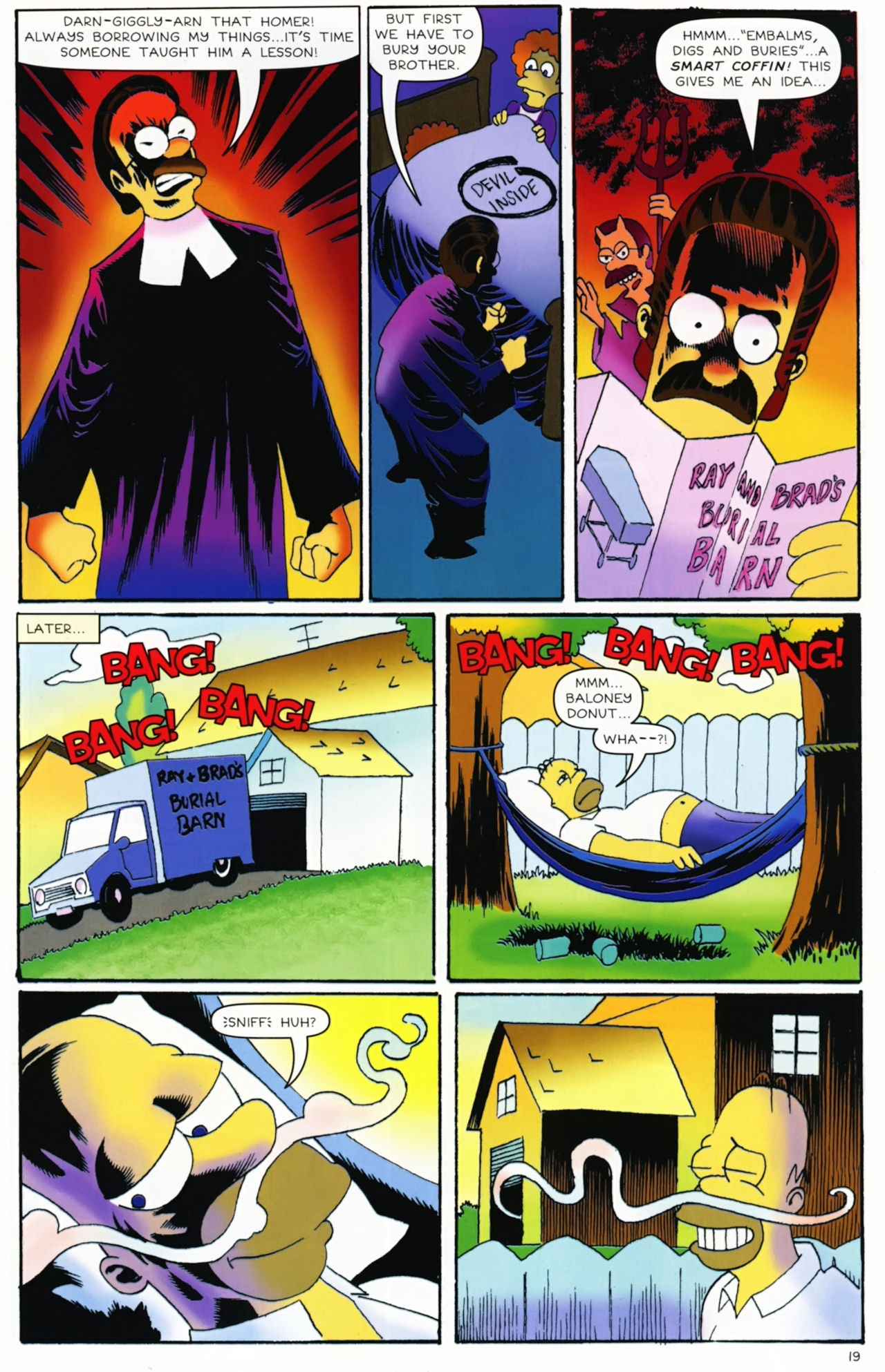 Read online Treehouse of Horror comic -  Issue #16 - 22
