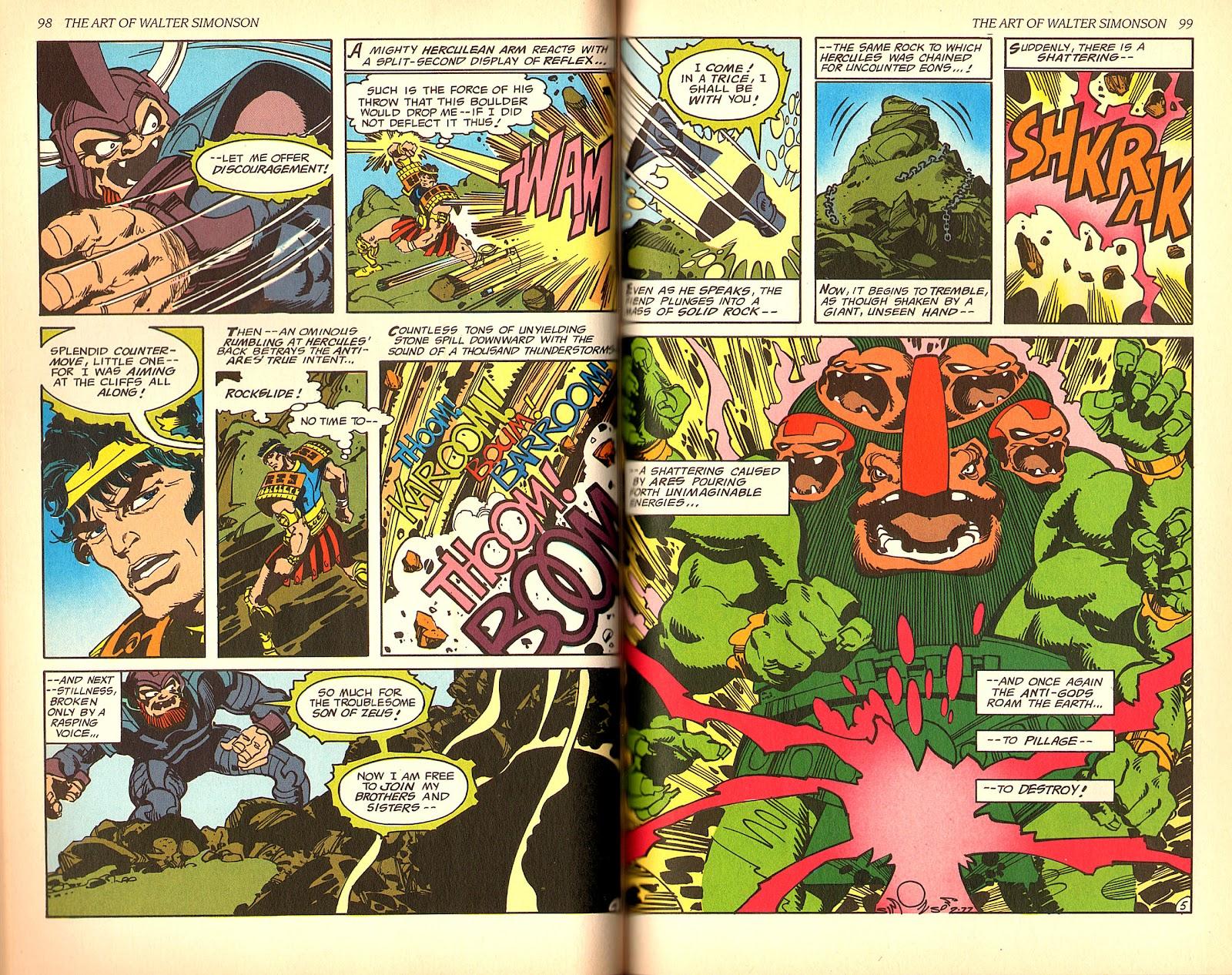 Read online The Art of Walter Simonson comic -  Issue # TPB - 51