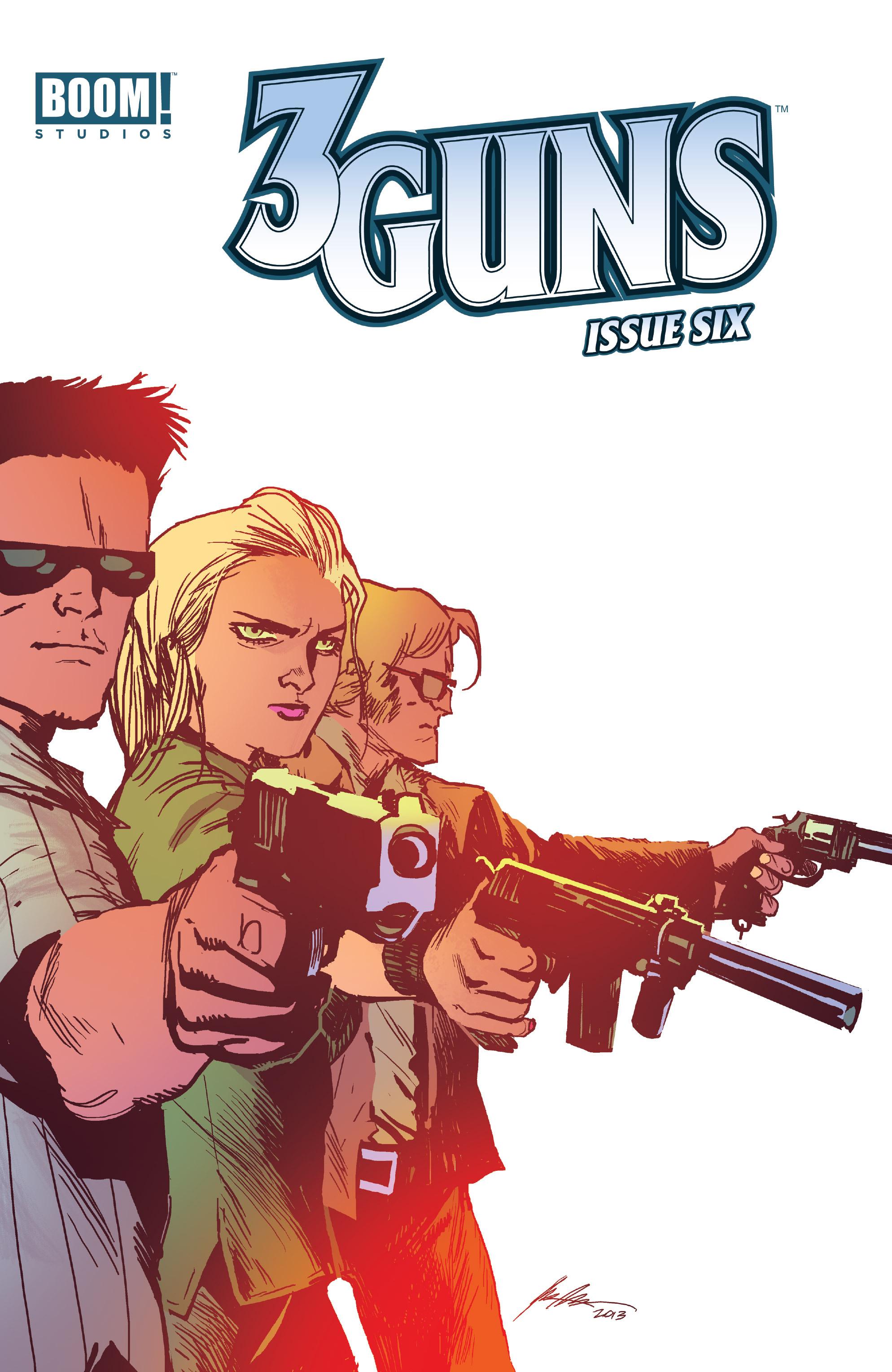 Read online 3 Guns comic -  Issue #6 - 1