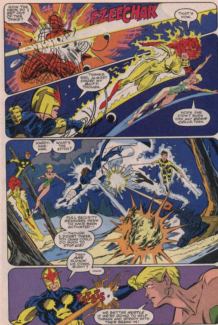The New Warriors Issue #19 #23 - English 12