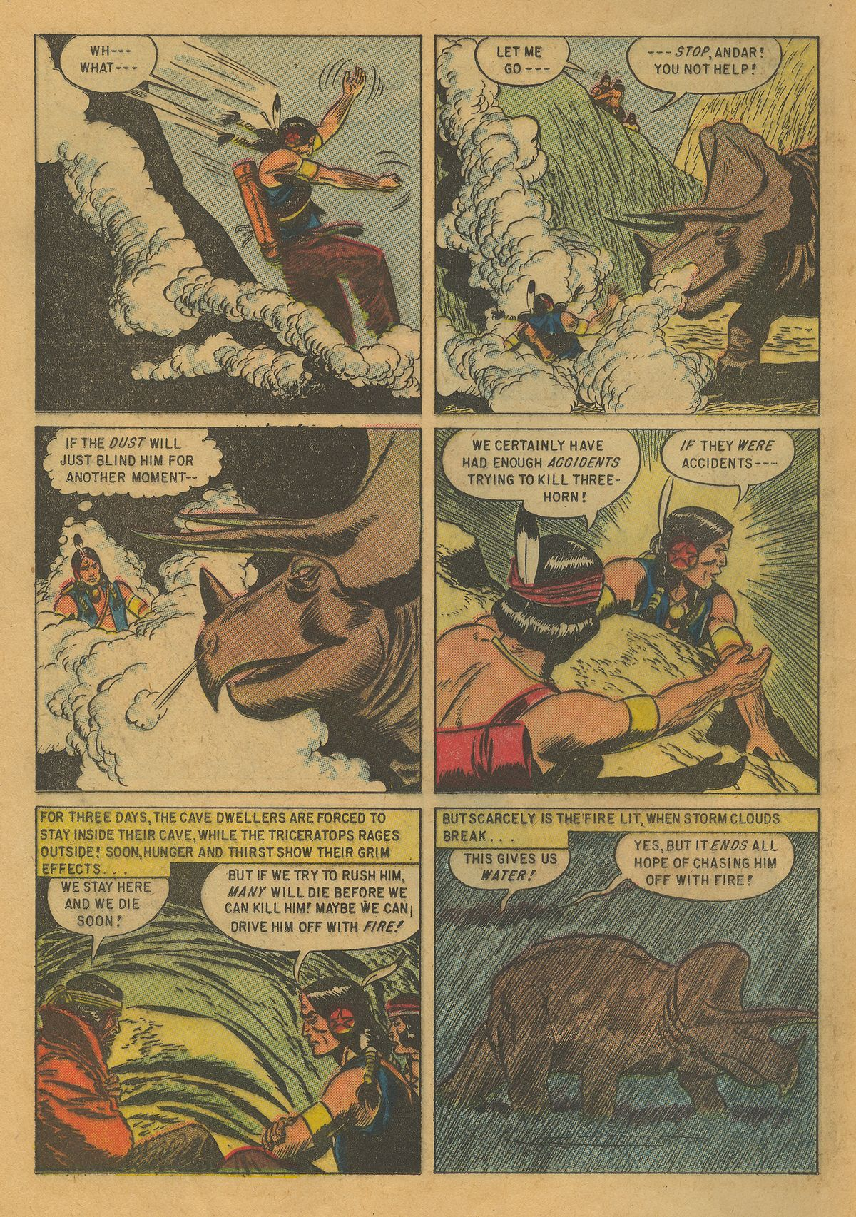 Read online Turok, Son of Stone comic -  Issue #10 - 12