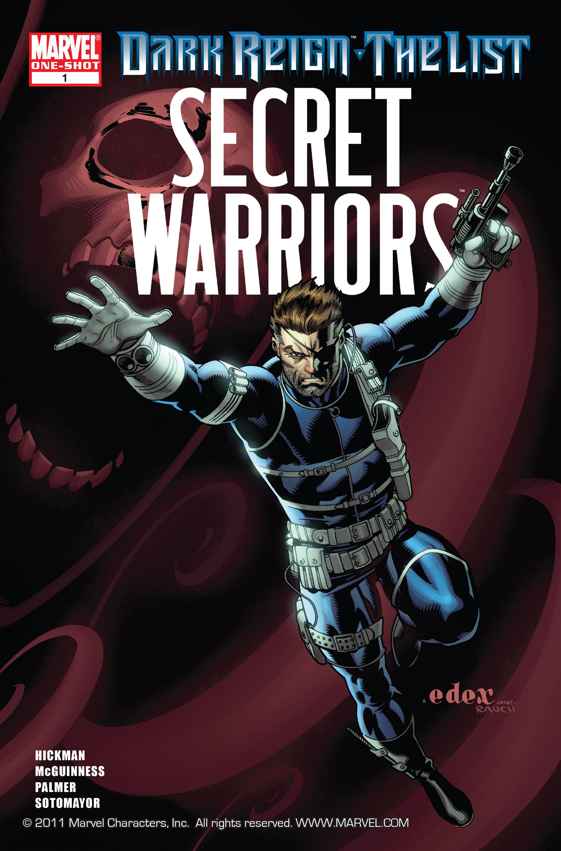 Dark Reign: The List - Secret Warriors Full Page 1