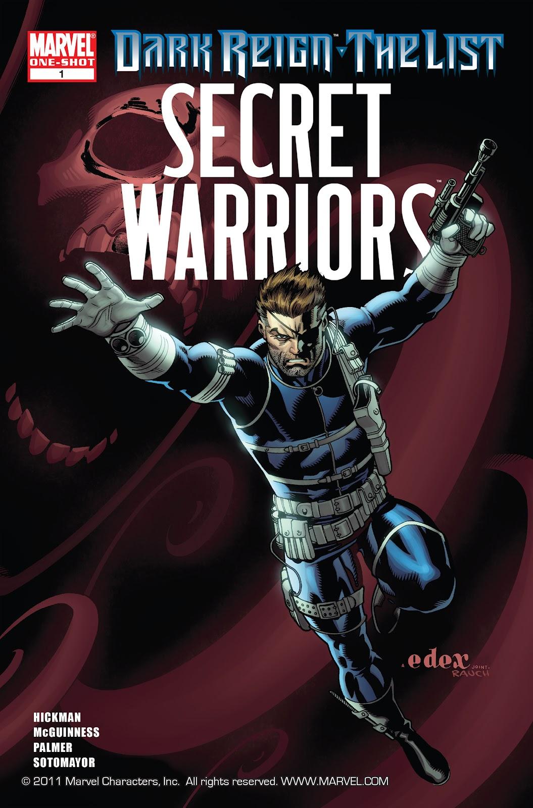 Dark Reign: The List - Secret Warriors issue Full - Page 1