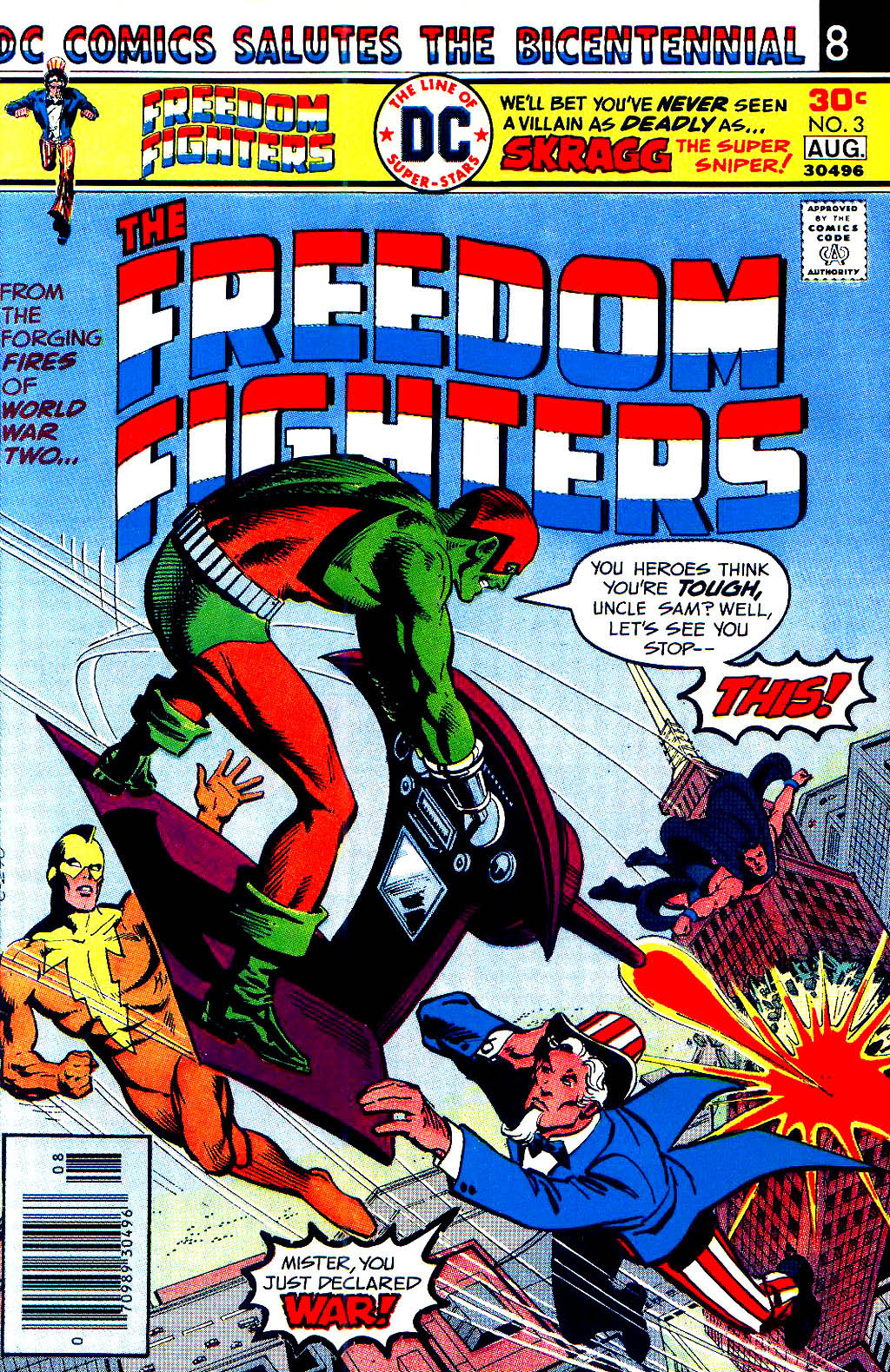 Freedom Fighters (1976) issue 3 - Page 1