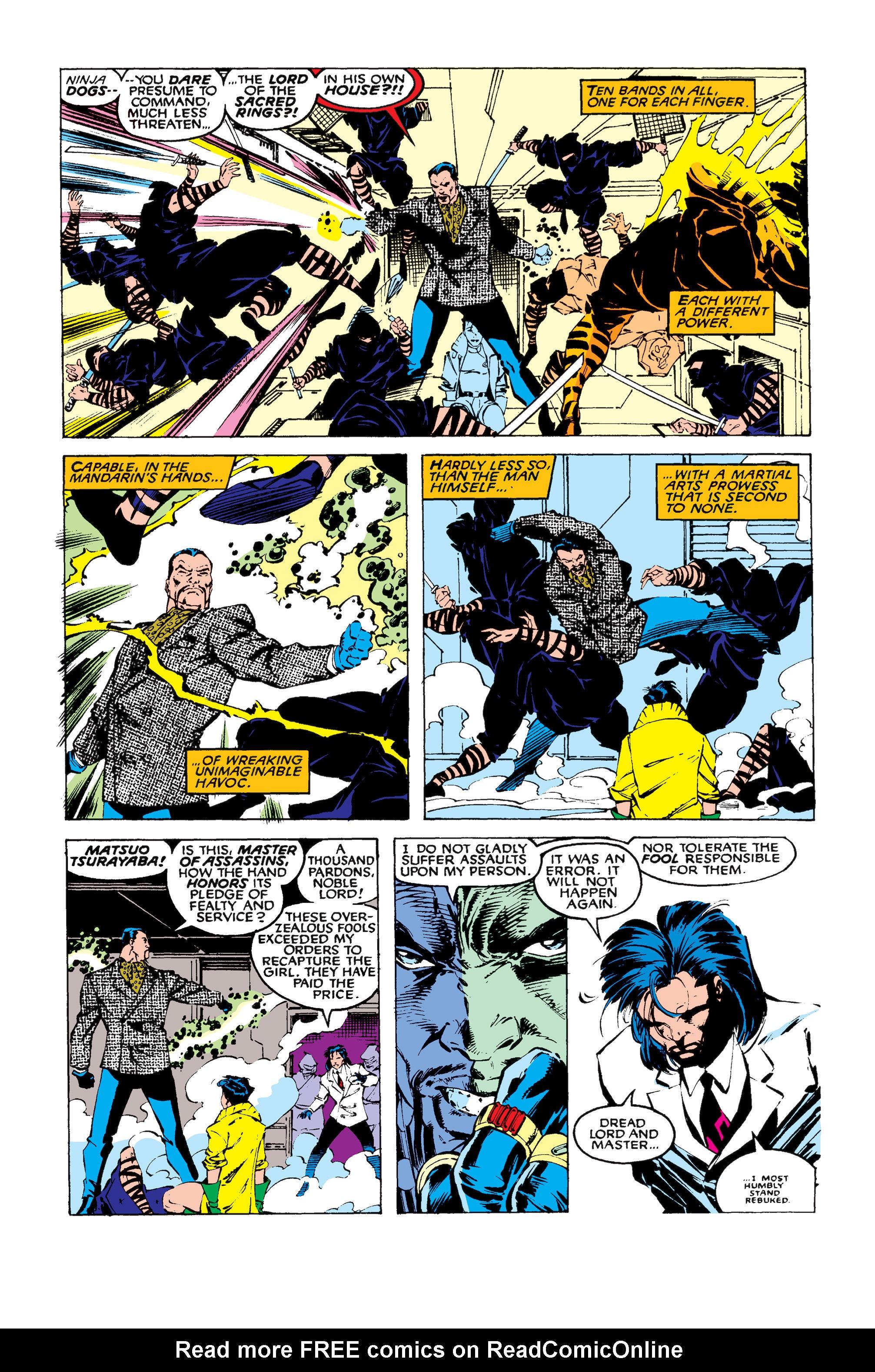 Read online Uncanny X-Men (1963) comic -  Issue #258 - 10