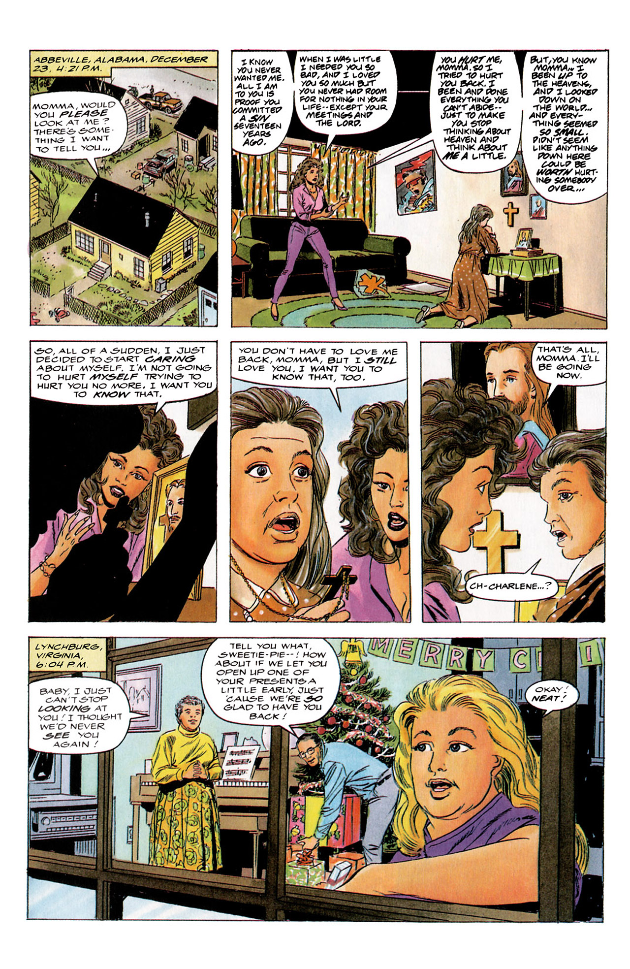 Read online Harbinger (1992) comic -  Issue #4 - 10