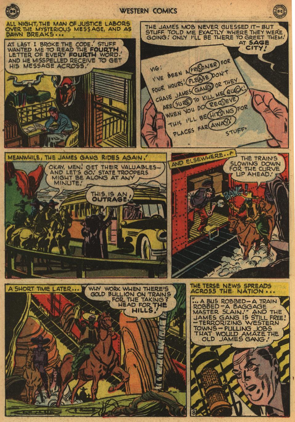 Western Comics issue 1 - Page 30