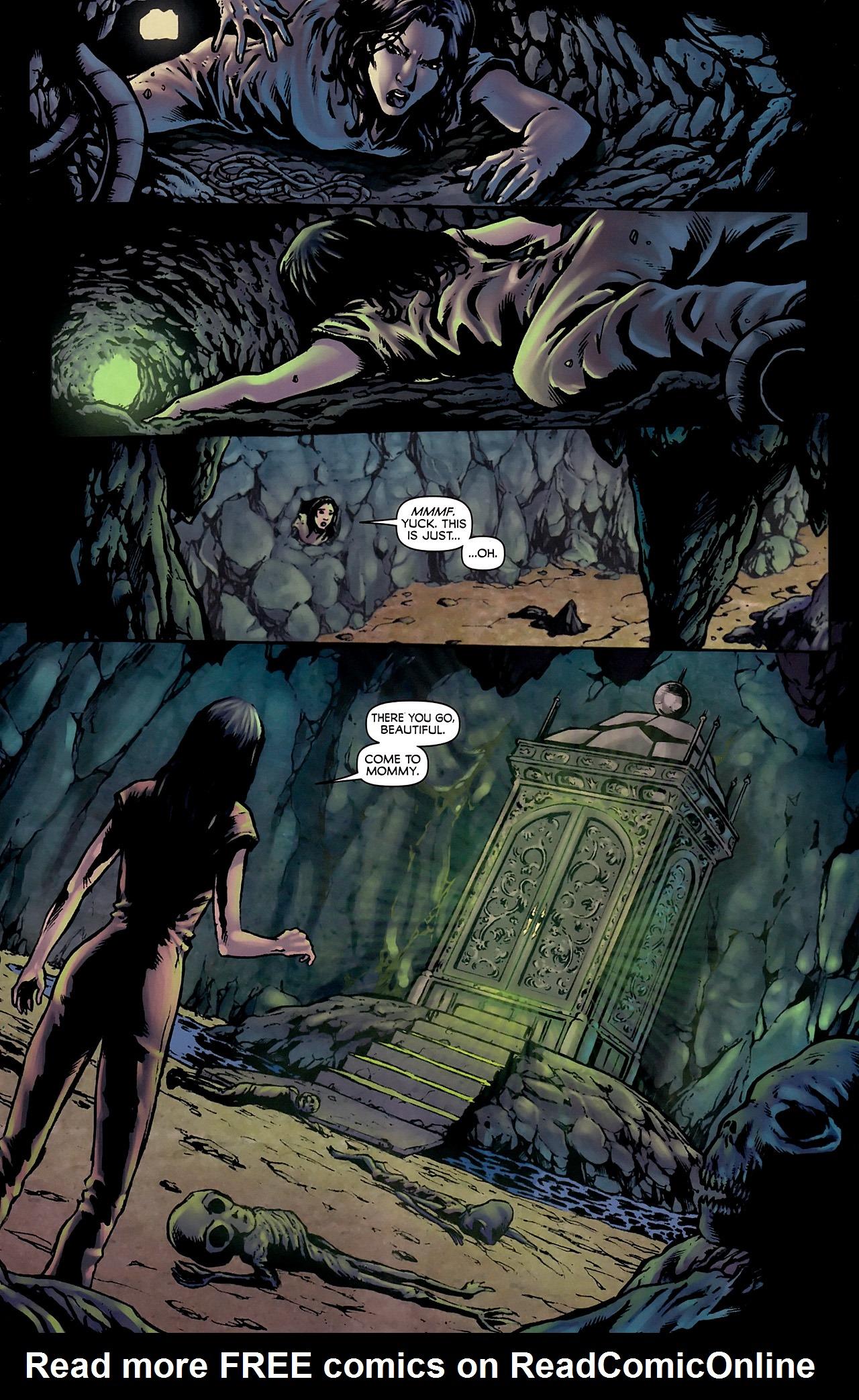 Read online Stargate Vala Mal Doran comic -  Issue #3 - 5