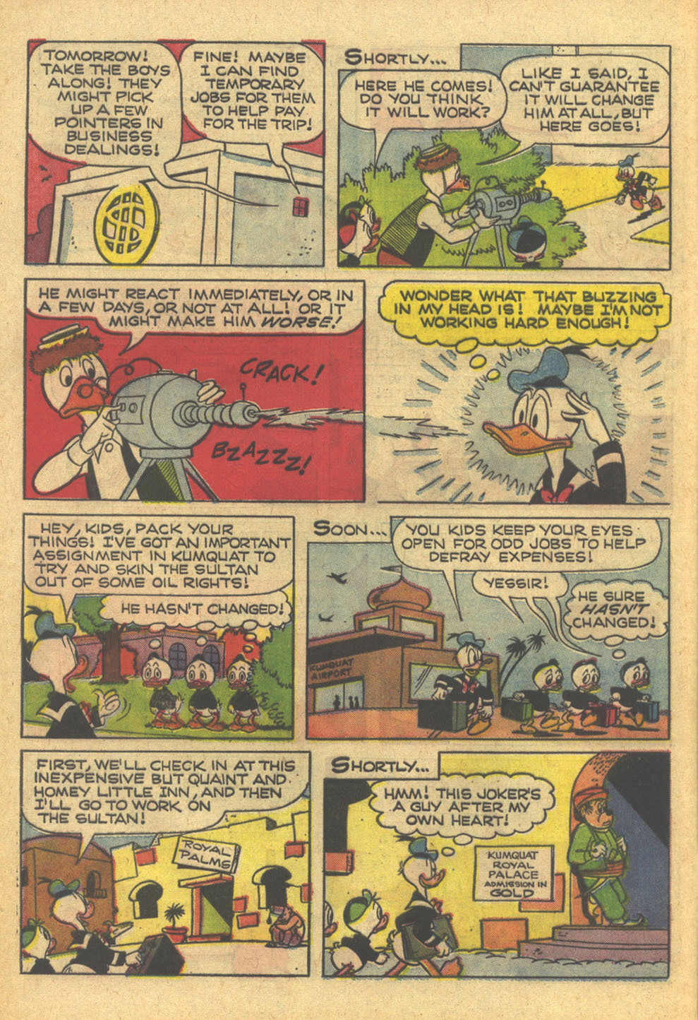 Walt Disney's Comics and Stories issue 332 - Page 8