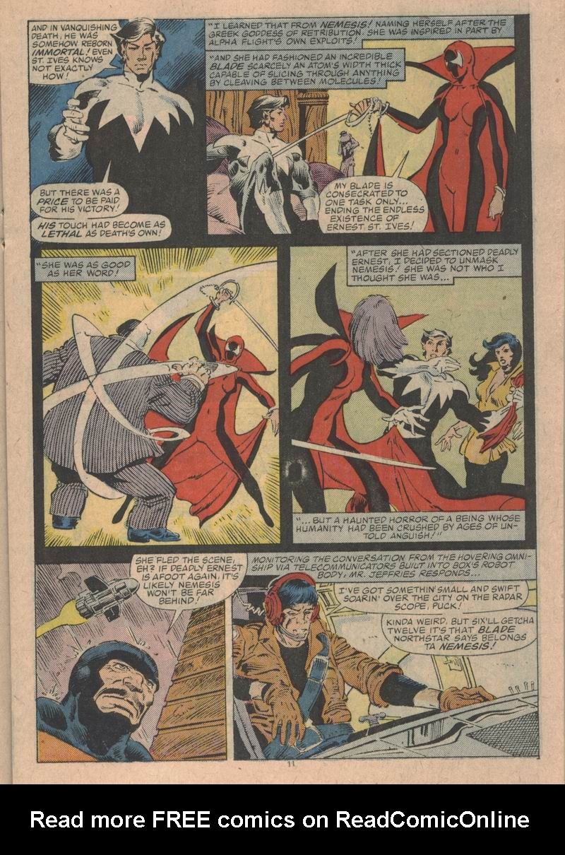 Read online Alpha Flight (1983) comic -  Issue #31 - 12