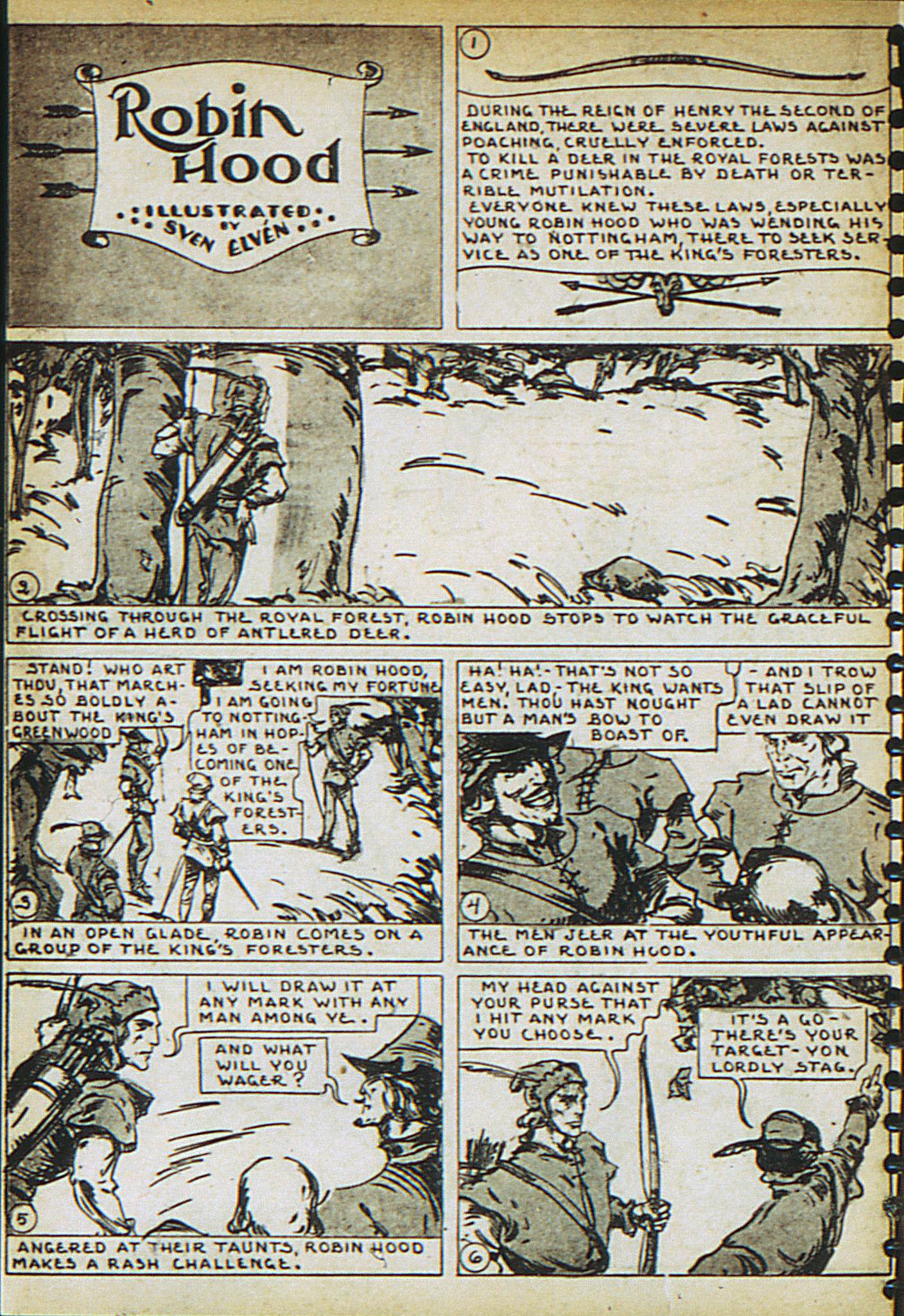 Read online Adventure Comics (1938) comic -  Issue #23 - 24