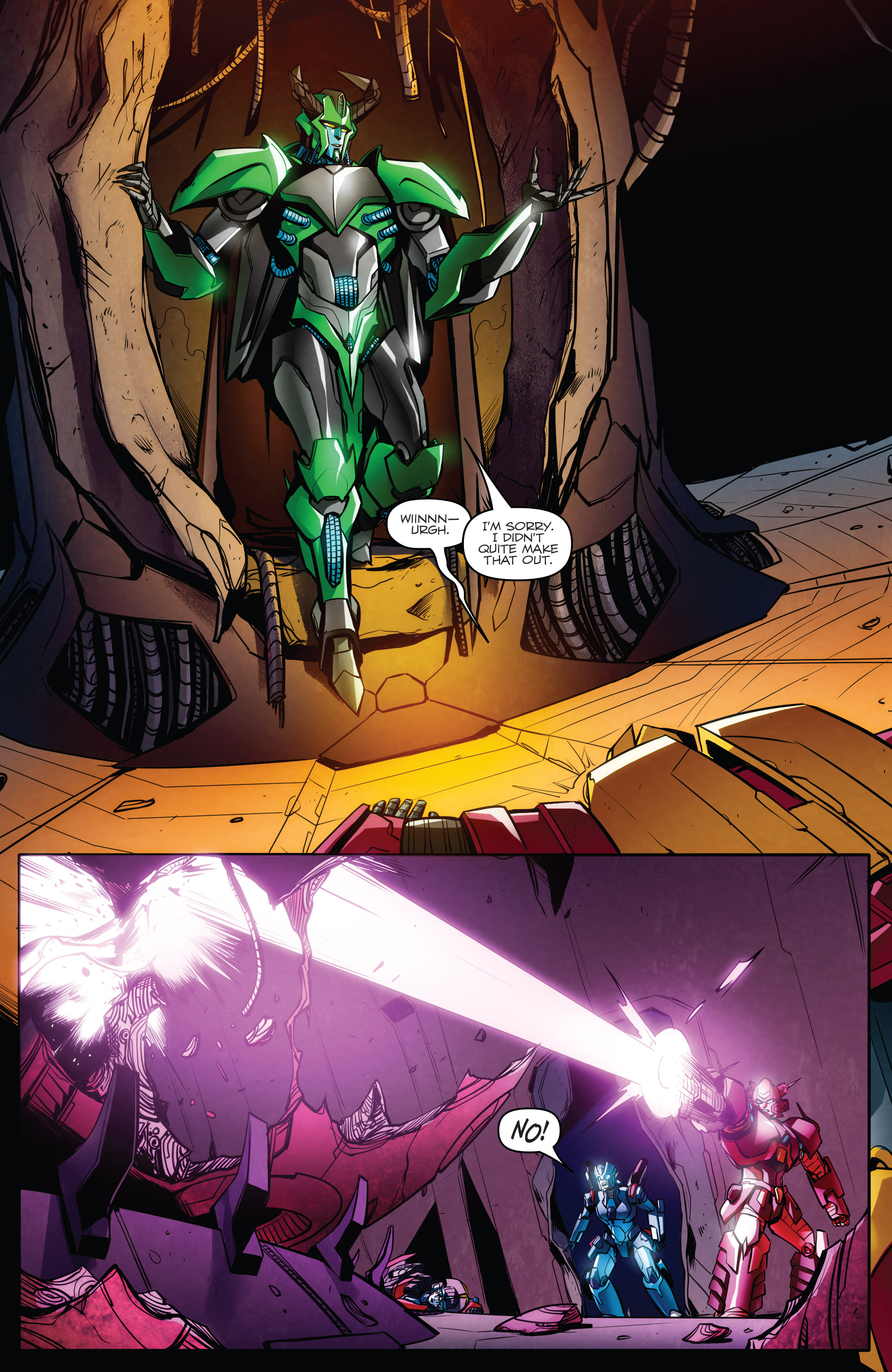 Read online Transformers: Till All Are One comic -  Issue #8 - 20