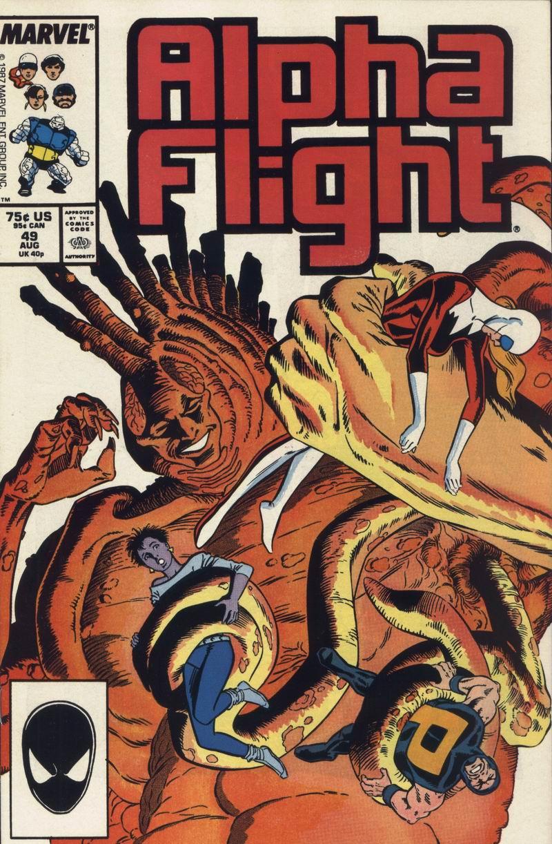 Alpha Flight (1983) 49 Page 1