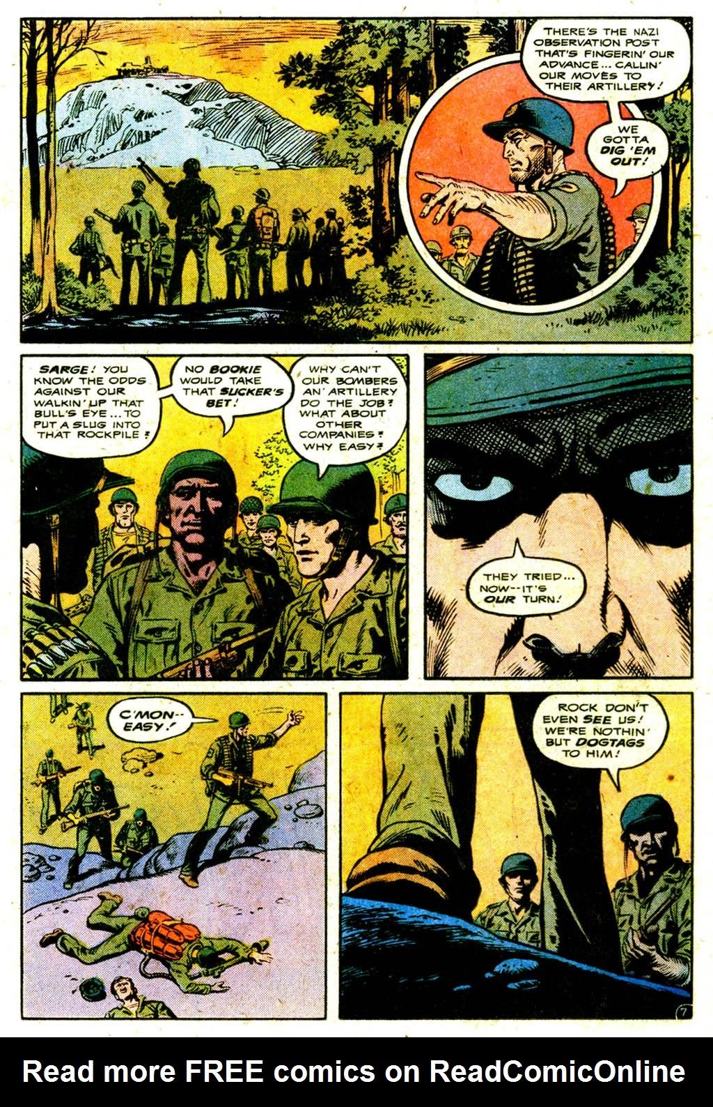 Read online Sgt. Rock comic -  Issue #316 - 11