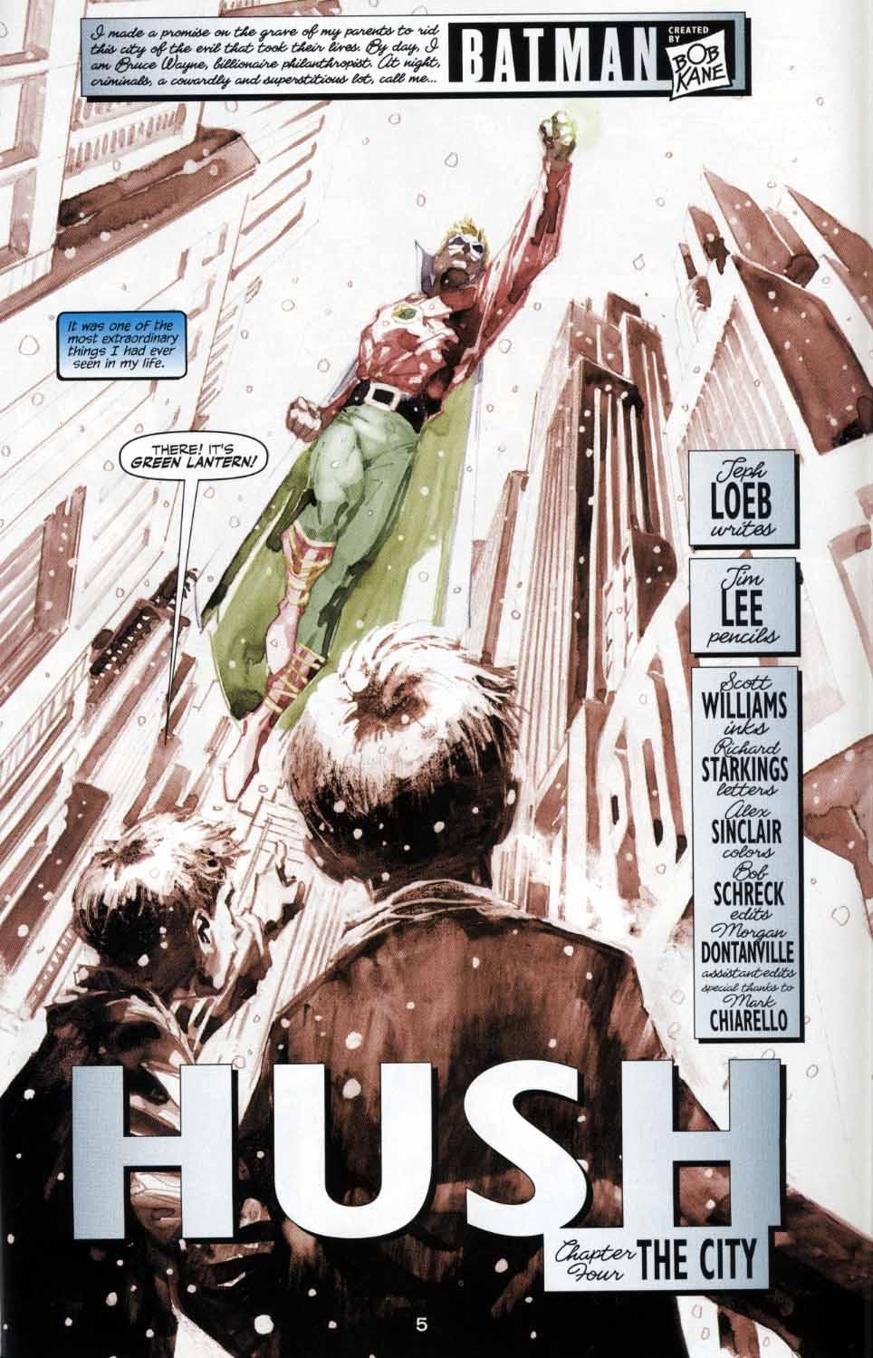 Read online Batman: Hush comic -  Issue #4 - 5