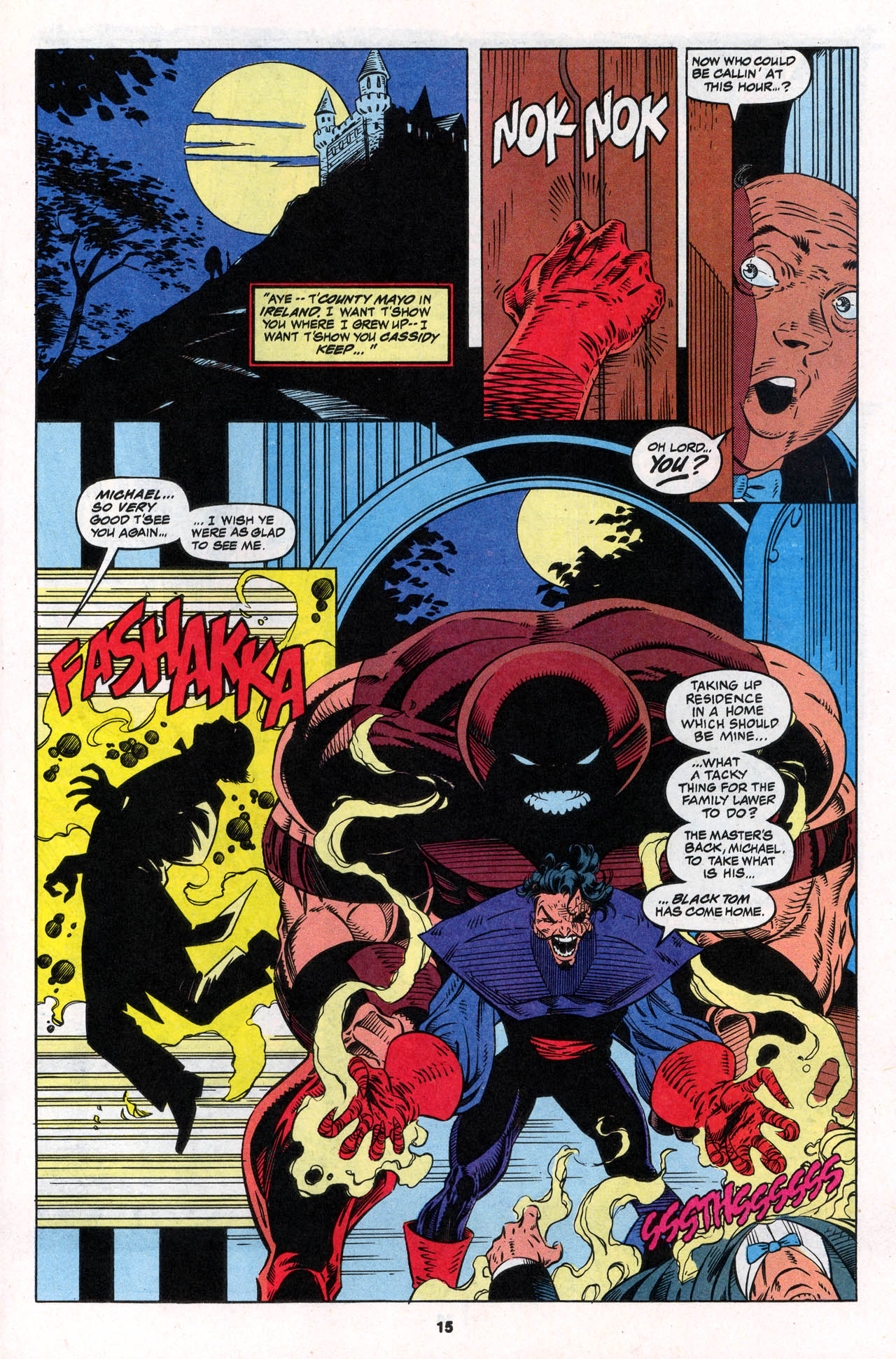 Read online X-Force (1991) comic -  Issue #30 - 16