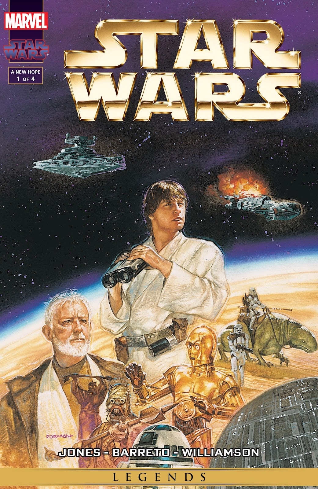 Star Wars: A New Hope - The Special Edition issue 1 - Page 1