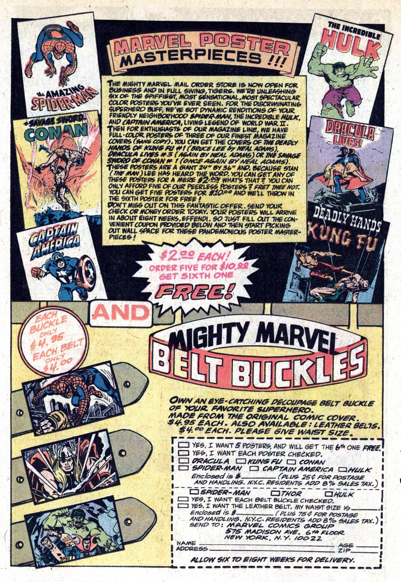 Read online Amazing Adventures (1970) comic -  Issue #29 - 22