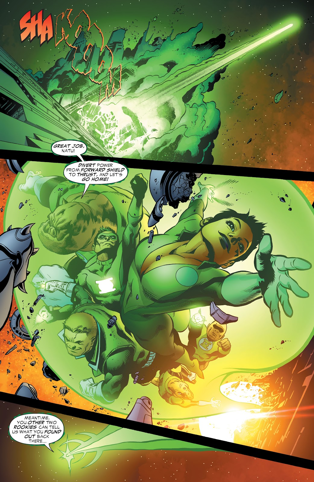 Read online Green Lantern by Geoff Johns comic -  Issue # TPB 1 (Part 3) - 66