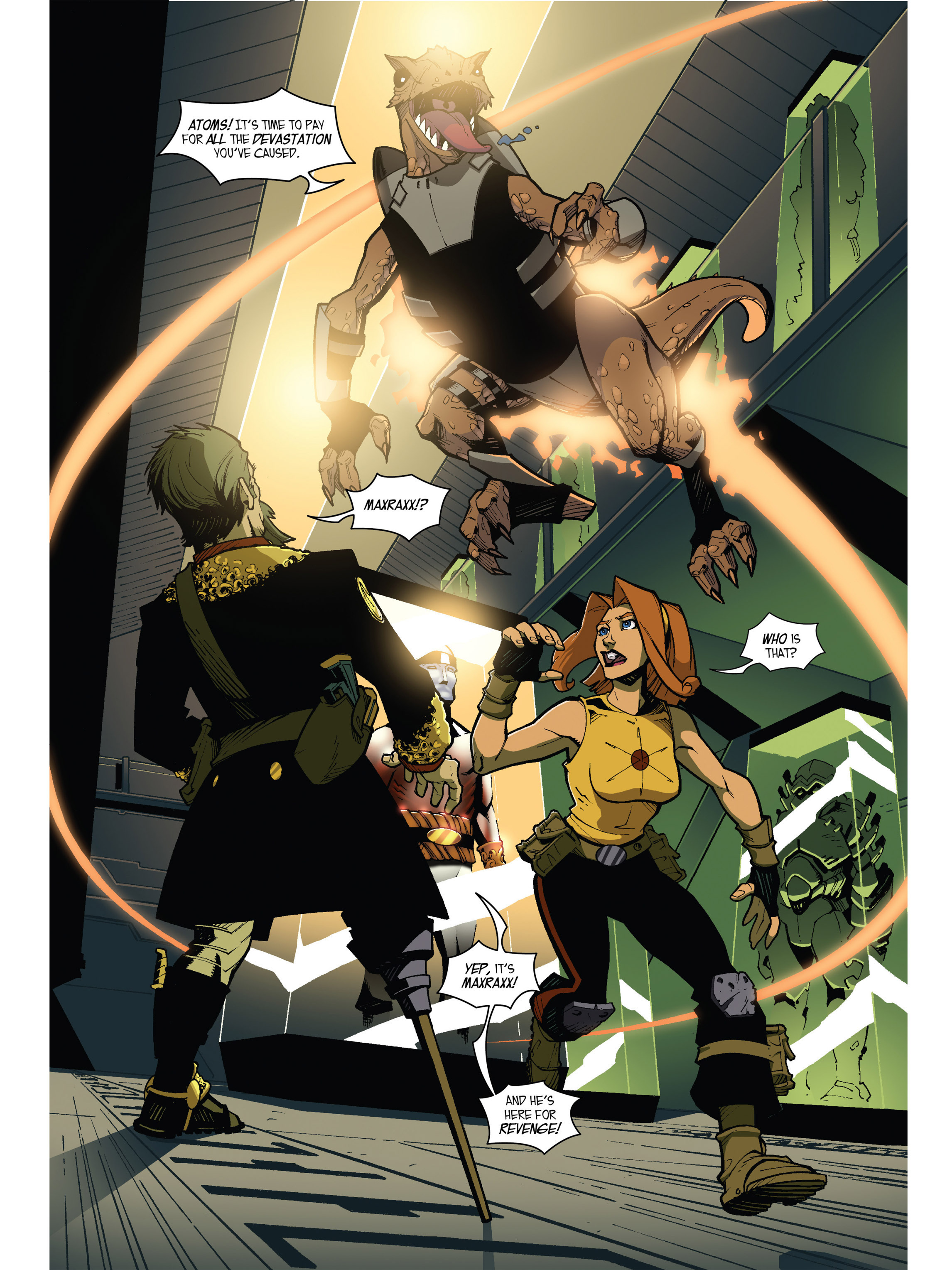 Read online Amber Atoms comic -  Issue #5 - 19