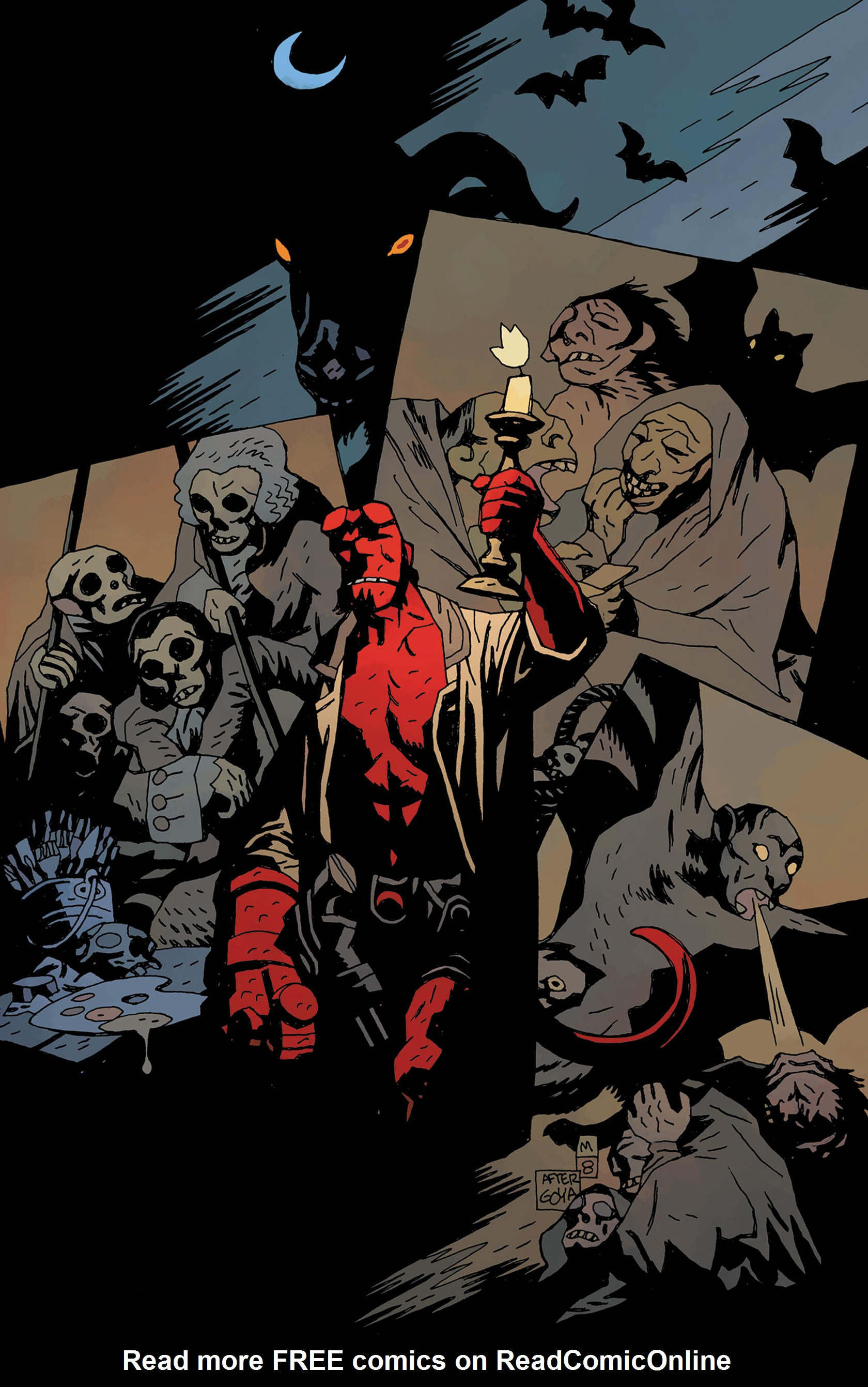 Read online Hellboy: The Crooked Man and Others comic -  Issue # TPB - 3