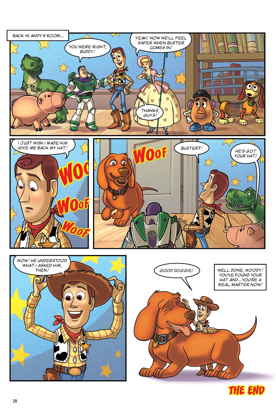Read online DISNEY·PIXAR Toy Story Adventures comic -  Issue # TPB 1 (Part 1) - 28