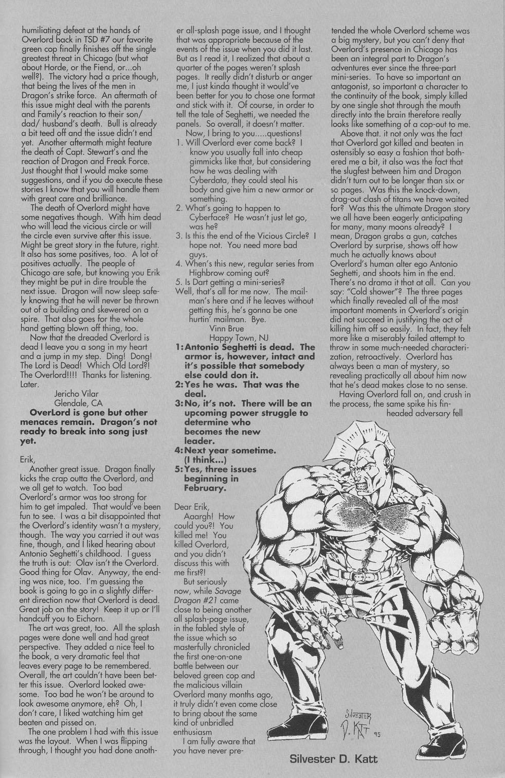 The Savage Dragon (1993) Issue #22 #25 - English 28