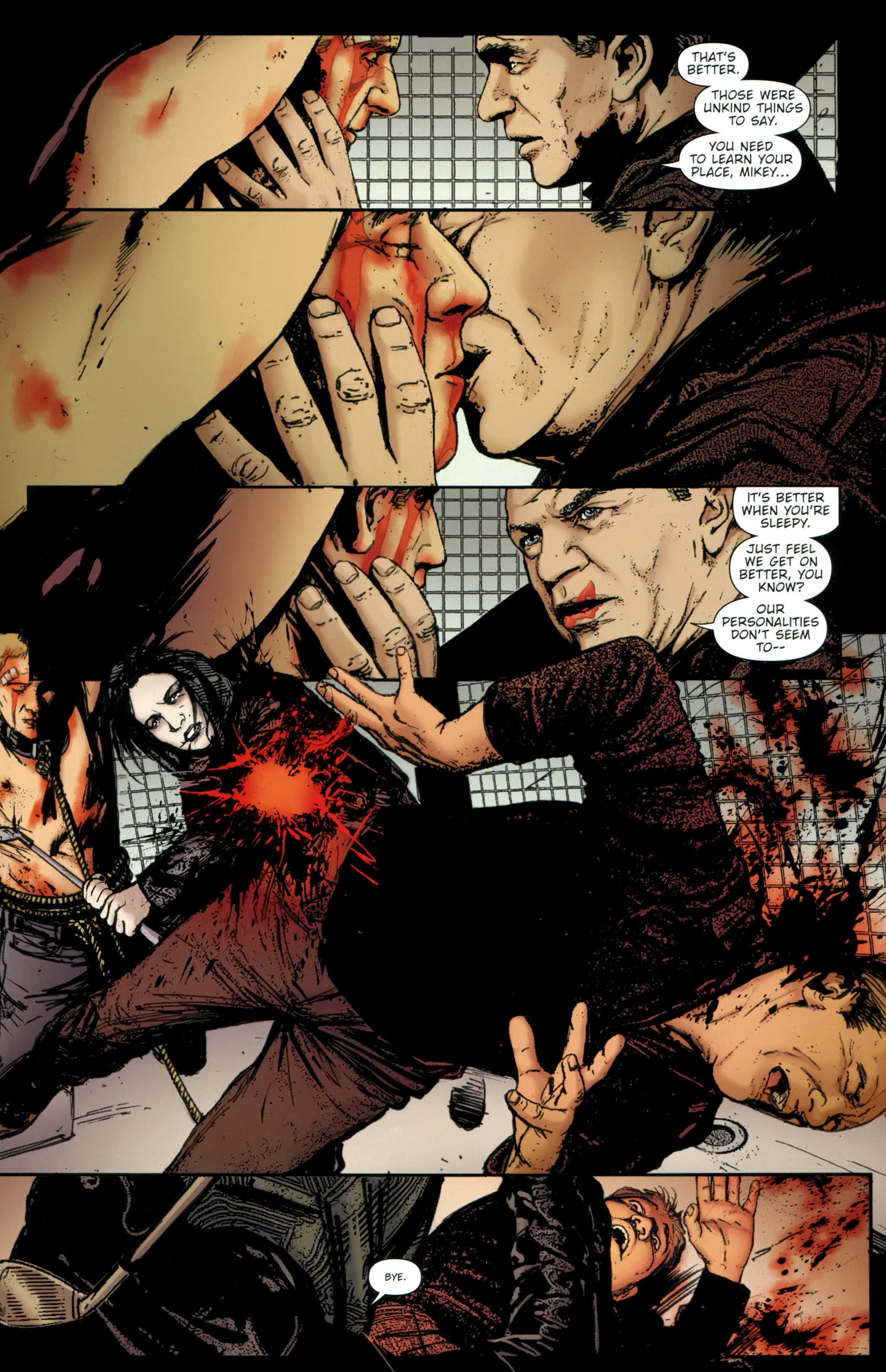 Read online The Girl With the Dragon Tattoo comic -  Issue # TPB 2 - 99
