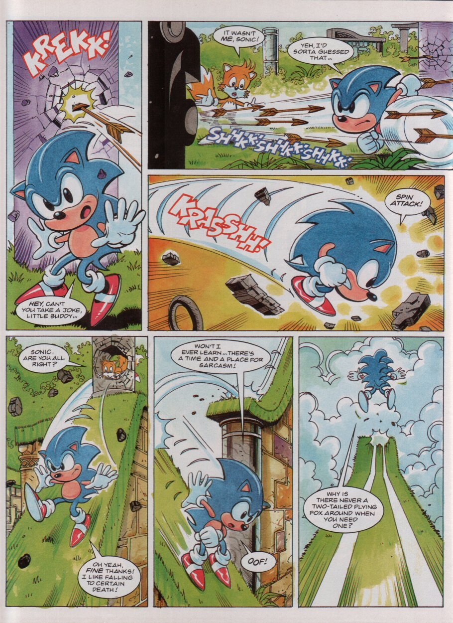Read online Sonic the Comic comic -  Issue #33 - 6