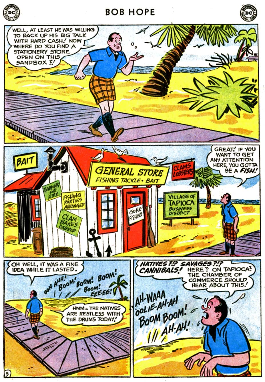 The Adventures of Bob Hope issue 72 - Page 7