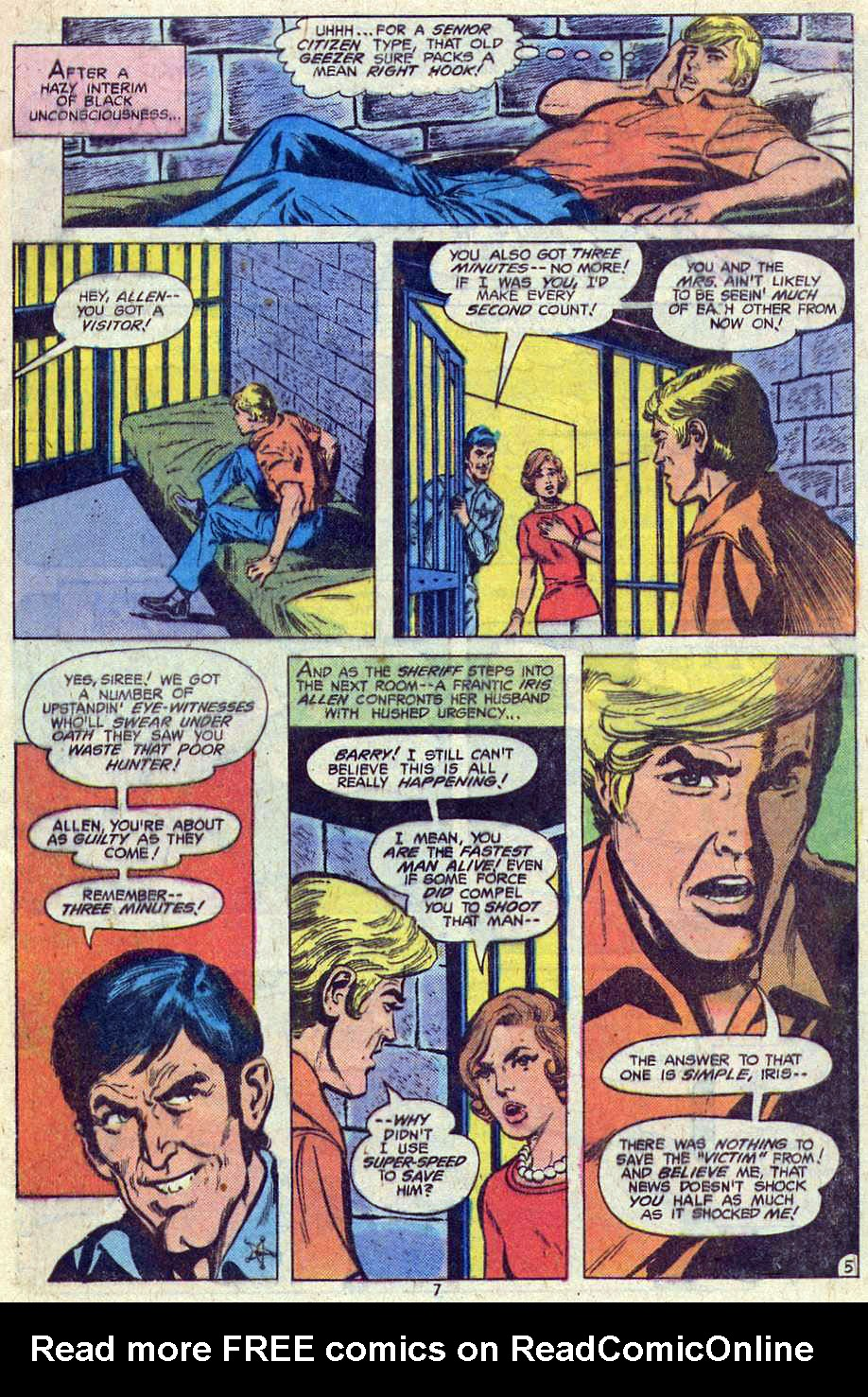 Read online Adventure Comics (1938) comic -  Issue #461 - 7