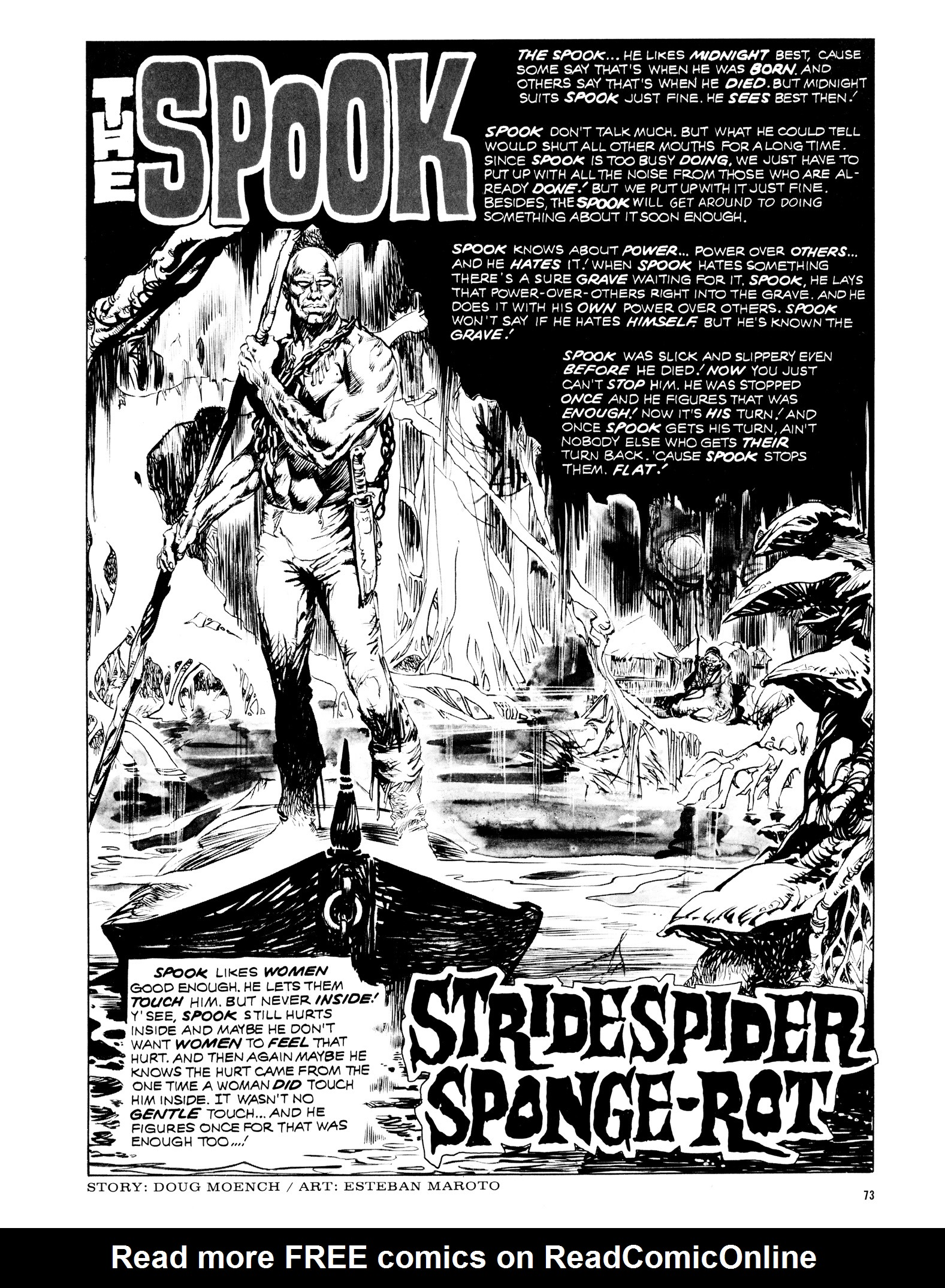 Read online Eerie Archives comic -  Issue # TPB 12 - 74