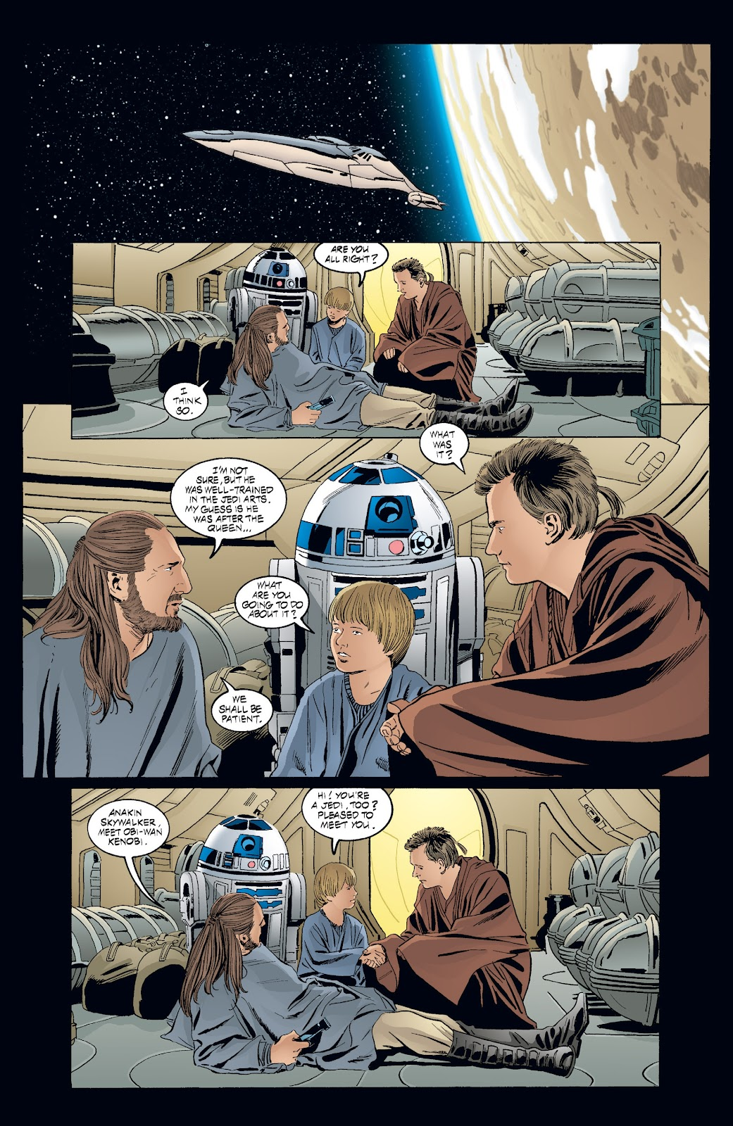 Read online Star Wars Legends: Rise of the Sith - Epic Collection comic -  Issue # TPB 2 (Part 3) - 97