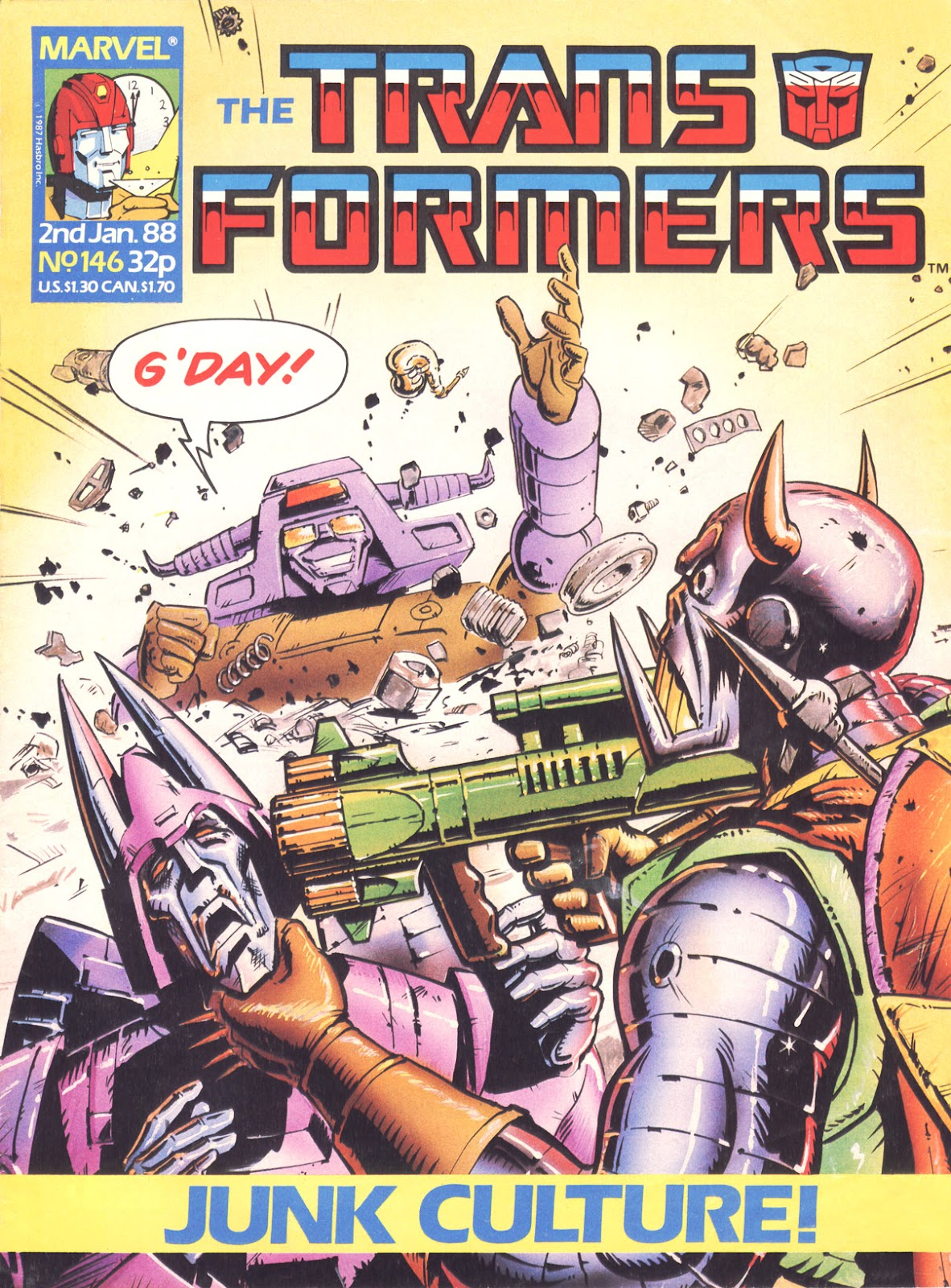 The Transformers (UK) 146 Page 1