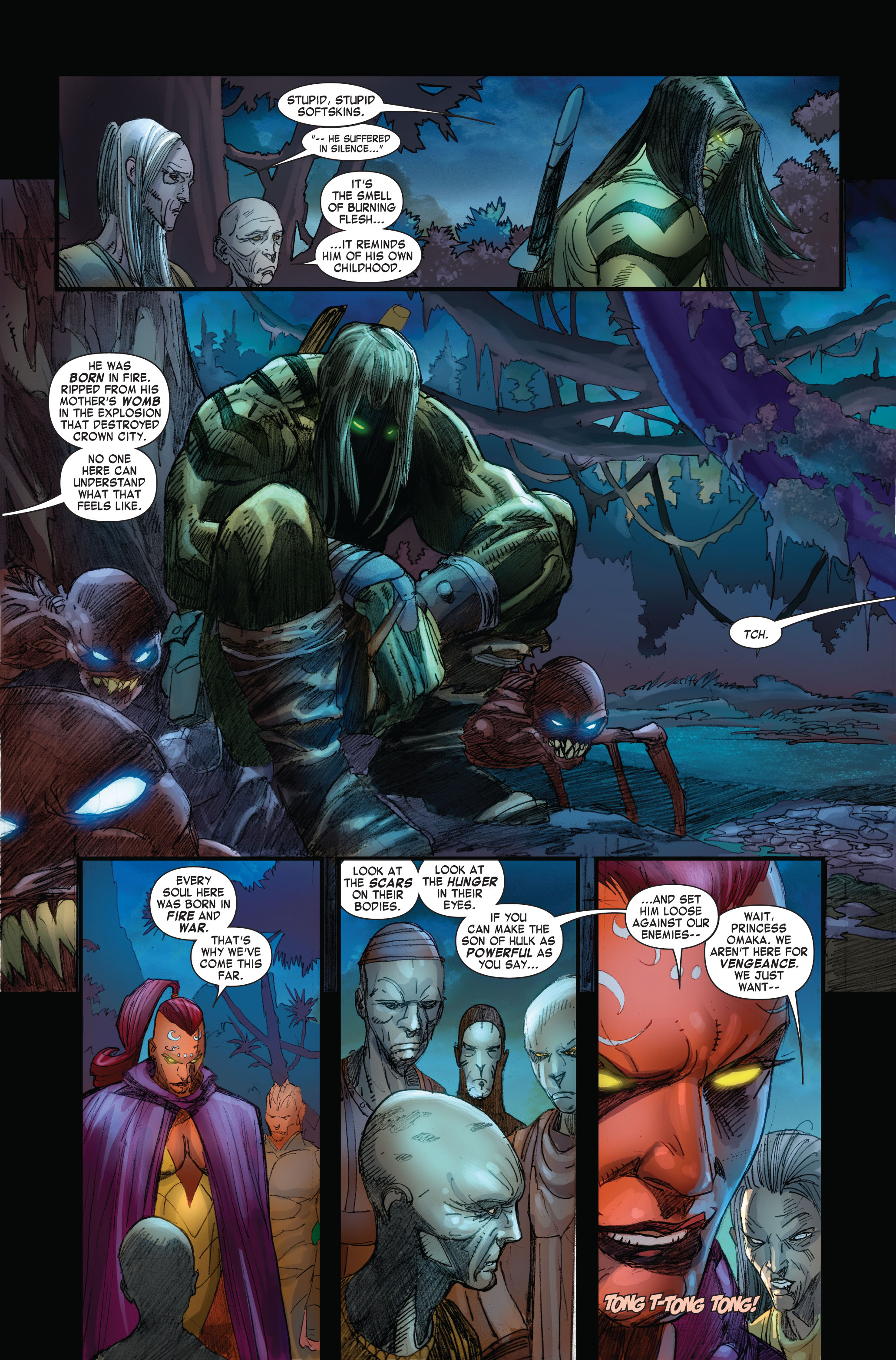 Read online Skaar: Son of Hulk comic -  Issue #4 - 3