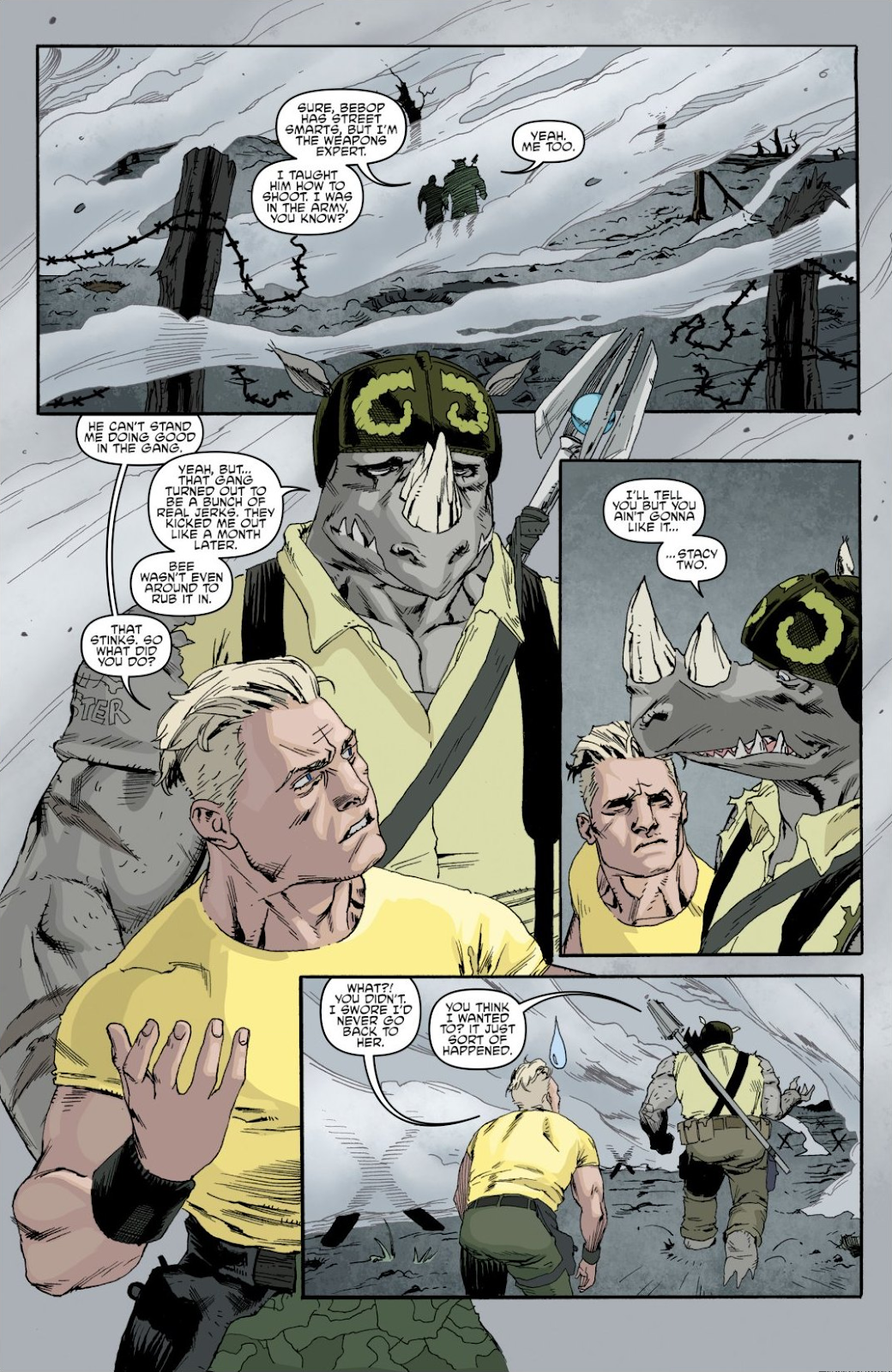 Read online Teenage Mutant Ninja Turtles: The IDW Collection comic -  Issue # TPB 8 (Part 1) - 74