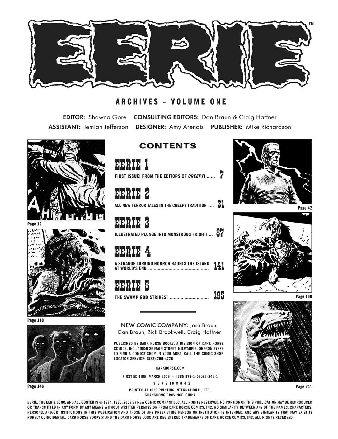Read online Eerie Archives comic -  Issue # TPB 1 - 4