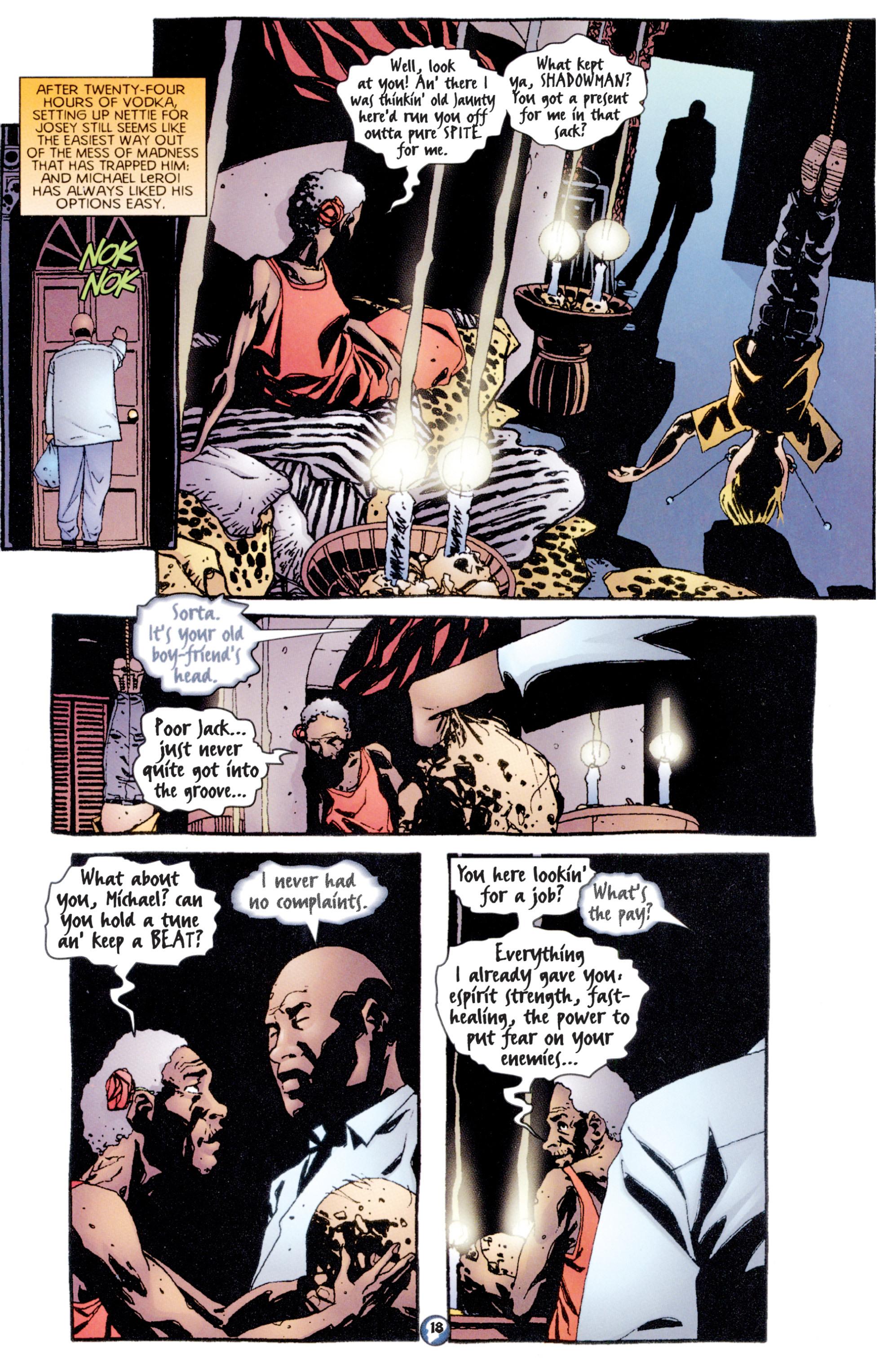 Read online Shadowman (1997) comic -  Issue #7 - 15