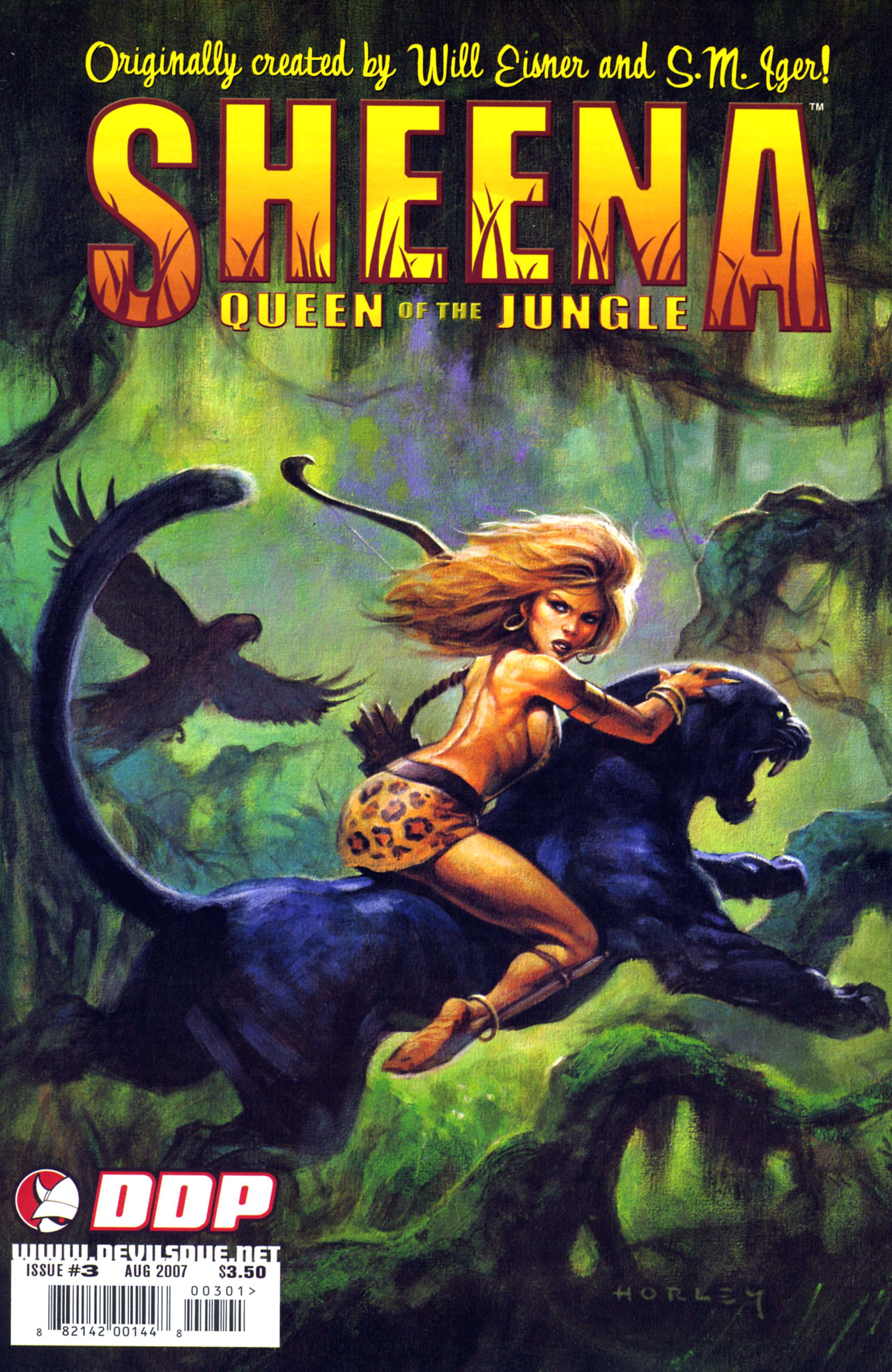 Read online Sheena, Queen of the Jungle comic -  Issue #3 - 1