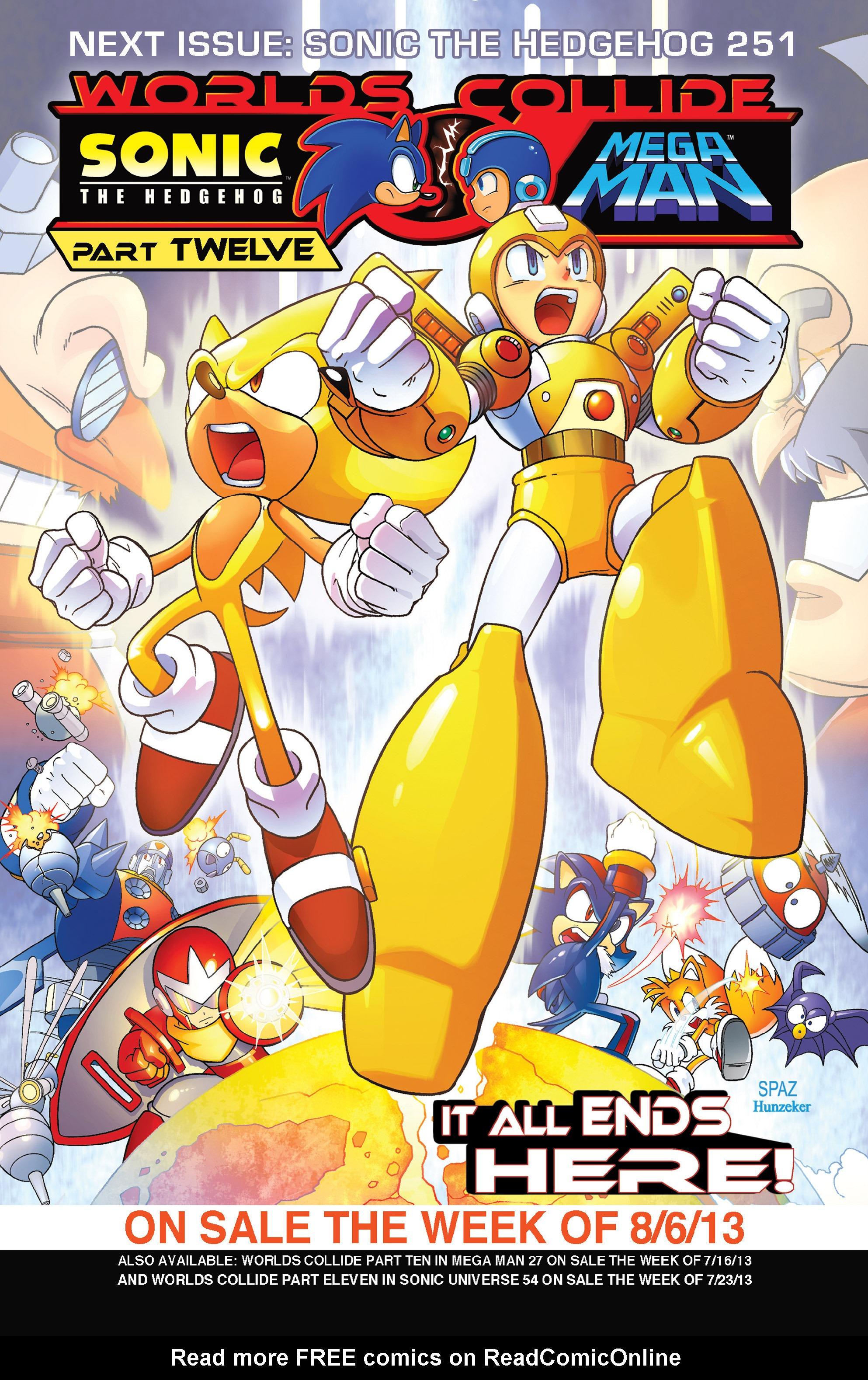 Read online Sonic Mega Man Worlds Collide comic -  Issue # Vol 3 - 47