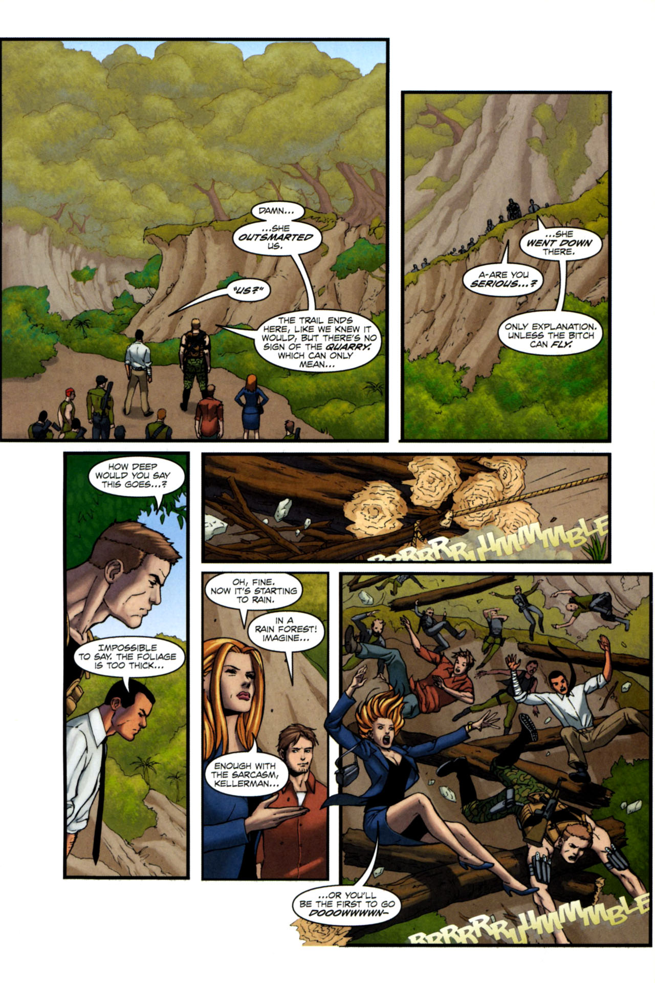 Read online Sheena, Queen of the Jungle comic -  Issue #4 - 16