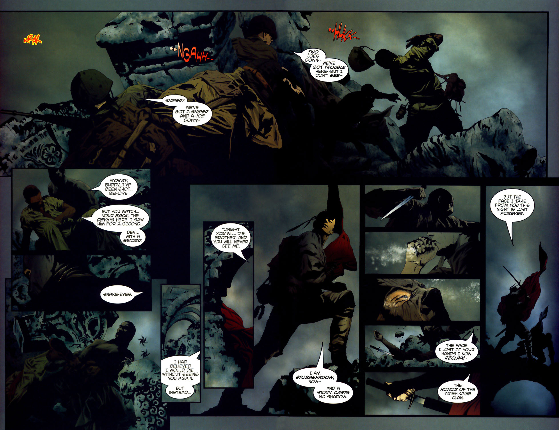 Read online Transformers/G.I. Joe comic -  Issue #1 - 19