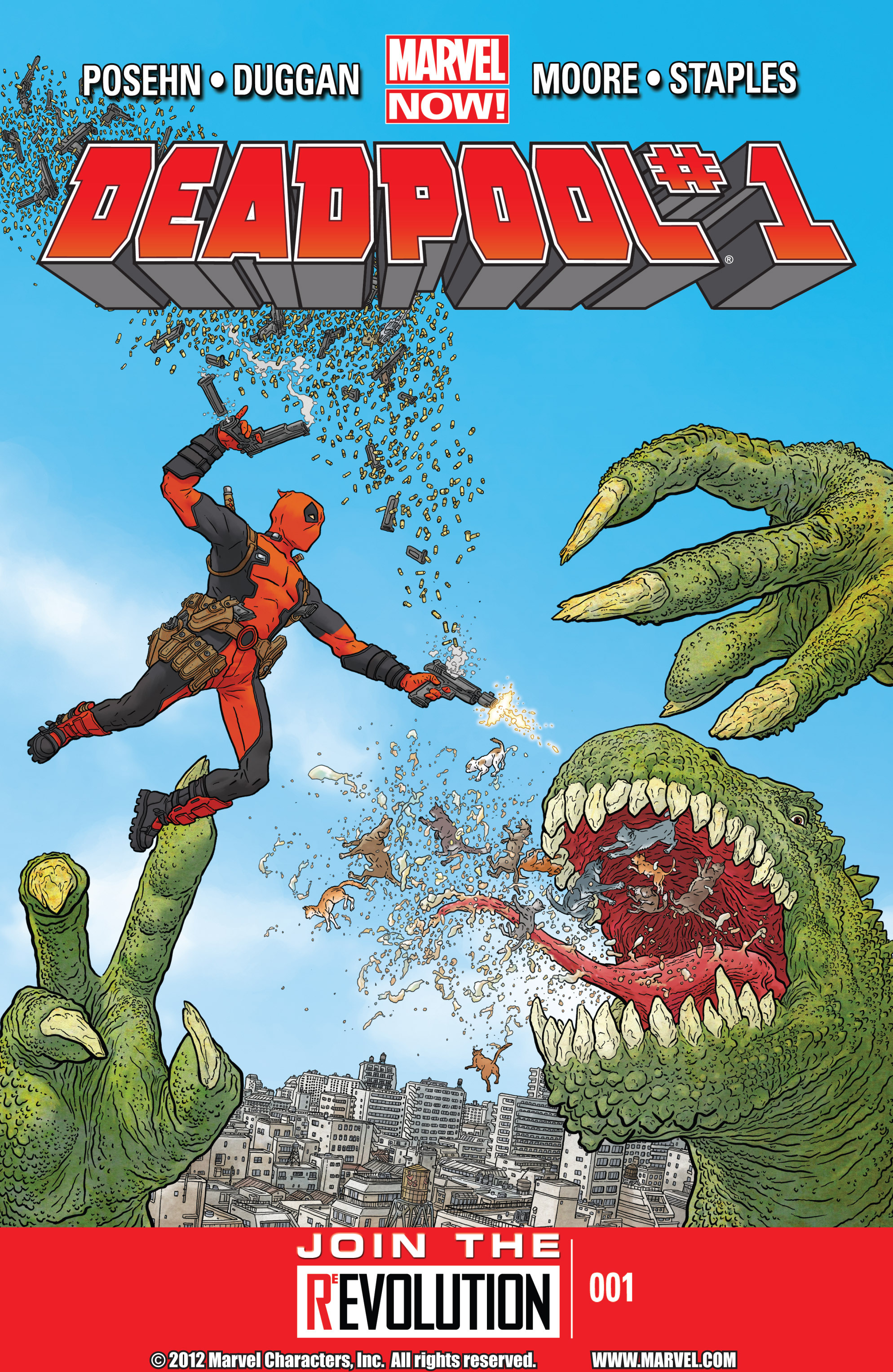 Deadpool (2013) issue 1 - Page 1
